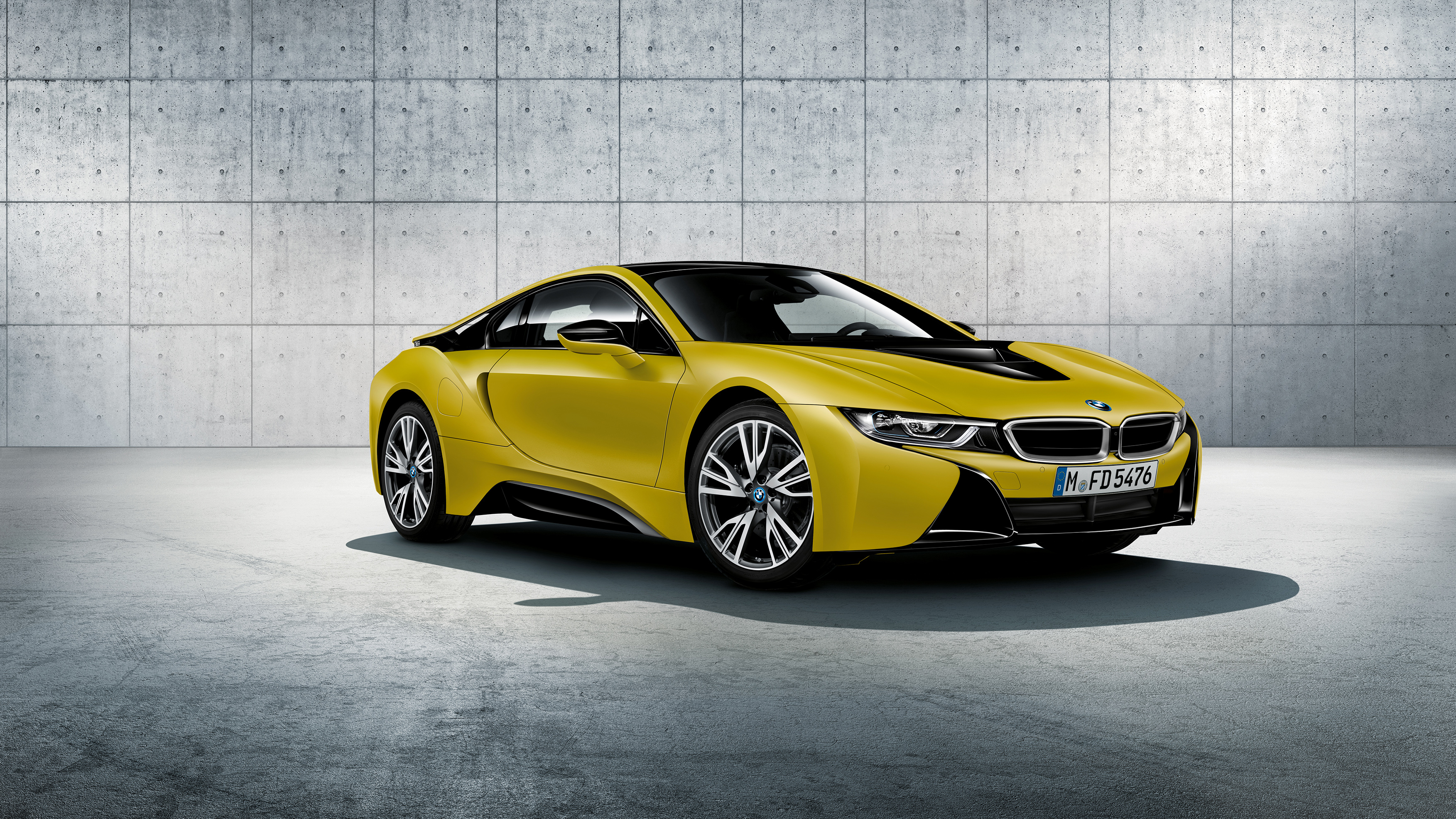 2017 BMW i8 Frozen Yellow Edition 2 Wallpaper | HD Car ...