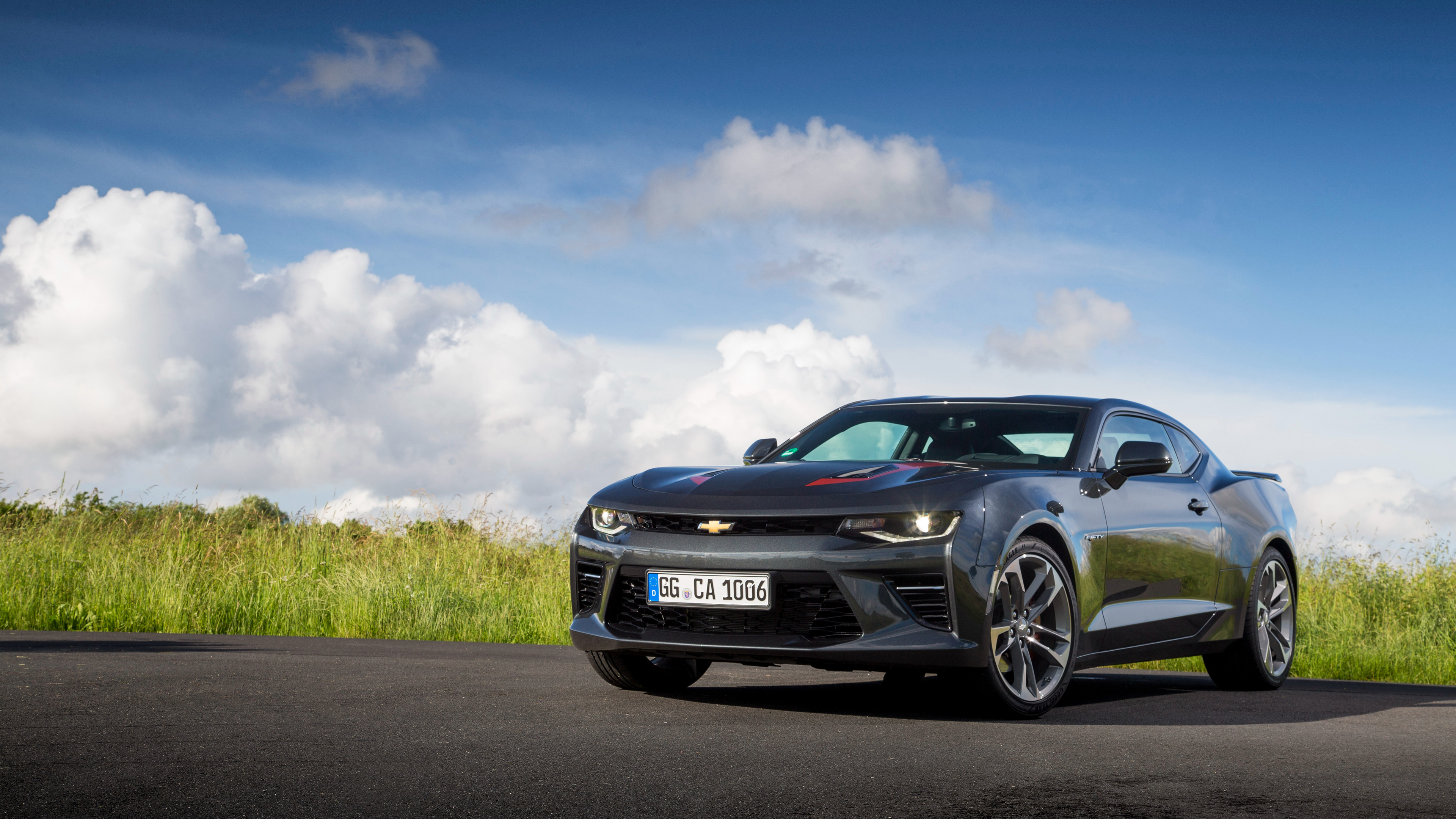 Th Anniversary Ss Camaro Car