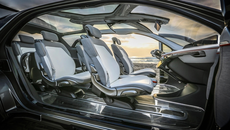 2017 Chrysler Portal Concept Interior Wallpaper Hd Car
