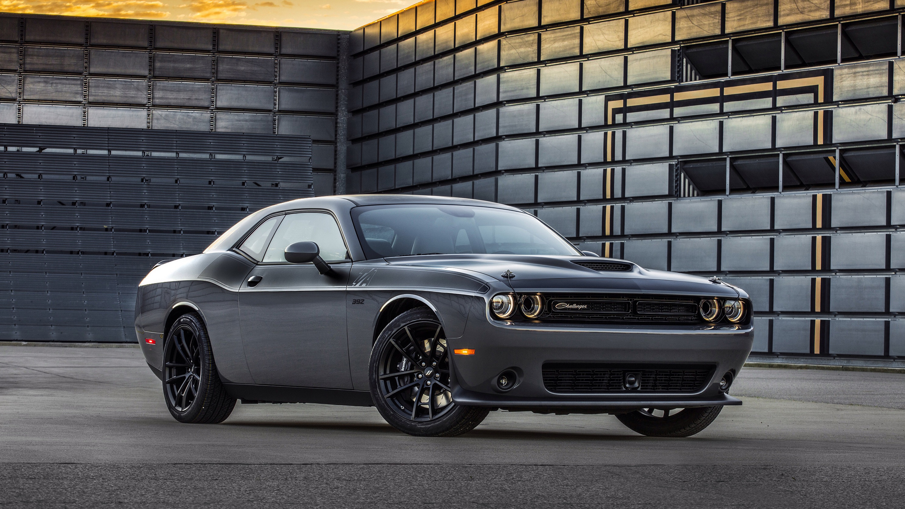 2017 Dodge Challenger Ta Wallpaper Hd Car Wallpapers Id 7059