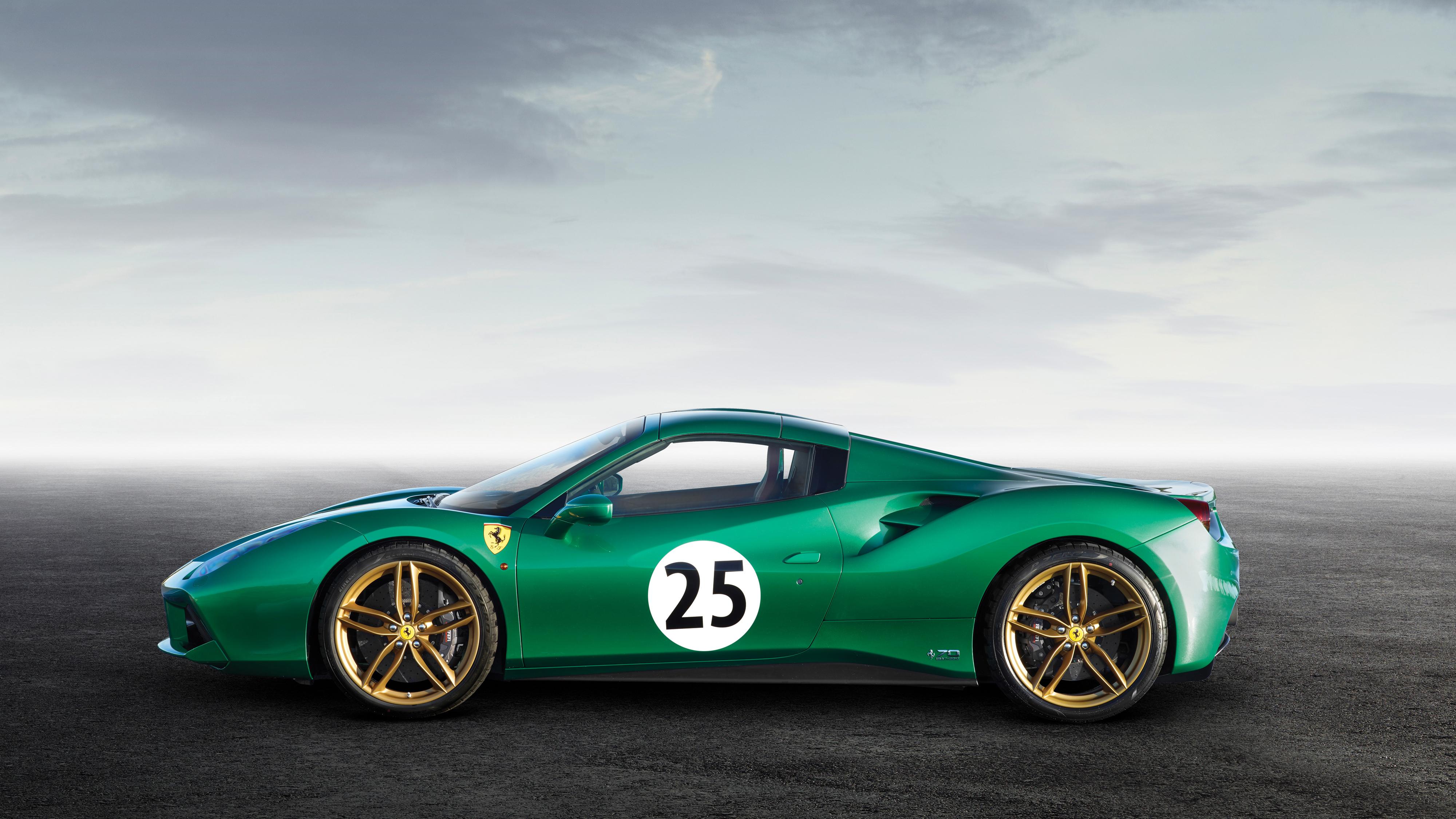 Ferrari Spider The Green Jewel K Hd