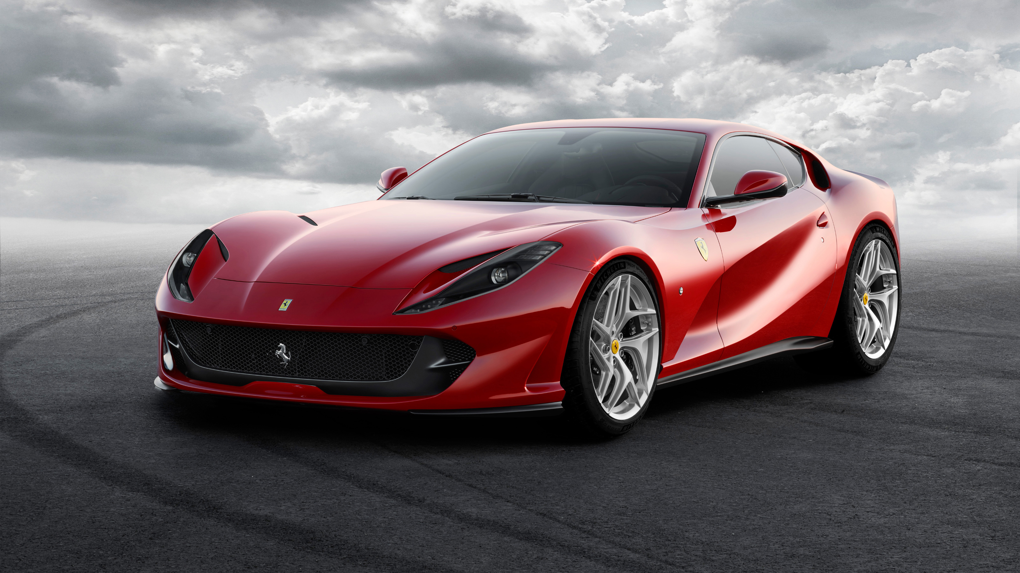 2017 ferrari 812 superfast wallpaper hd car wallpapers id 7563. Black Bedroom Furniture Sets. Home Design Ideas