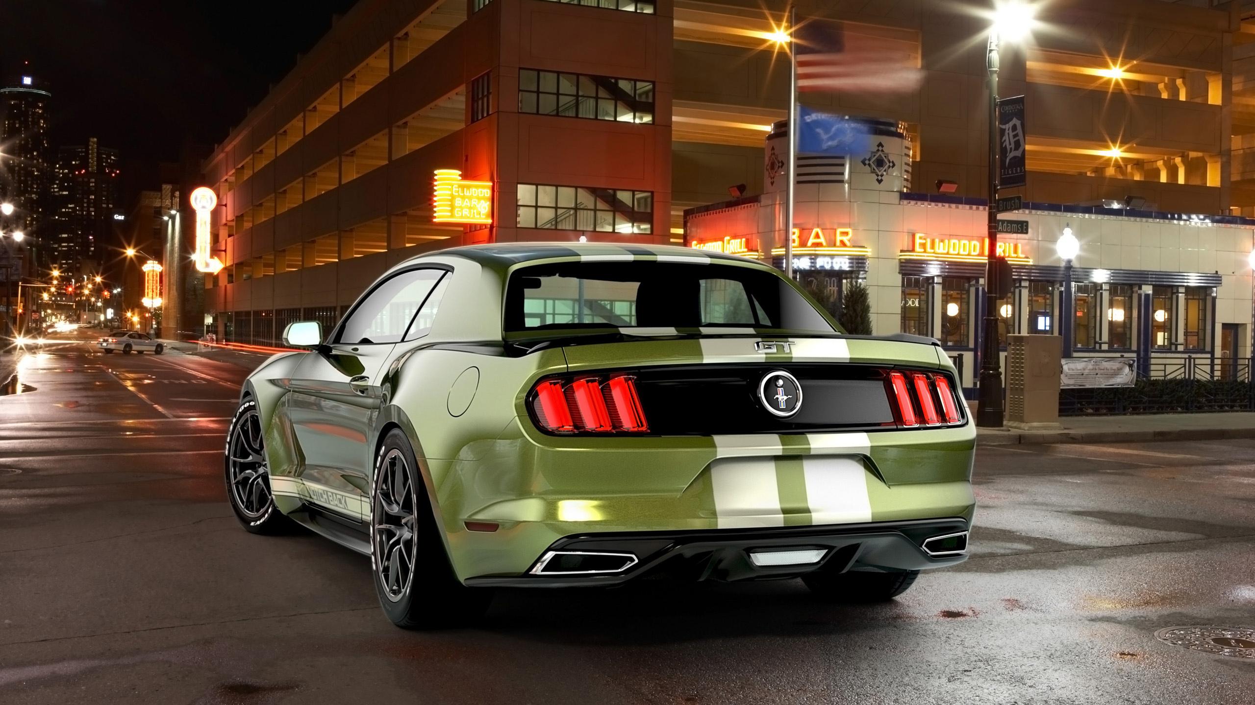 2017 Ford Mustang Notchback Design 2 Wallpaper Hd Car