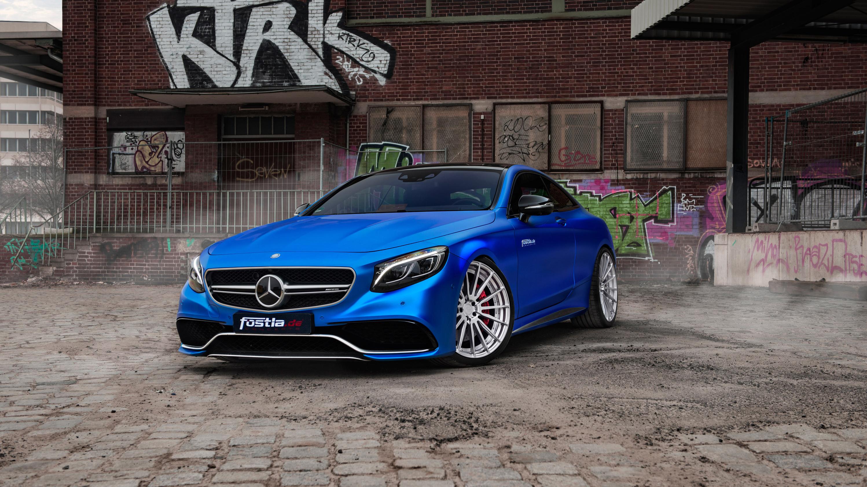 2017 Fostla Mercedes Amg S63 4matic 2 Wallpaper Hd Car