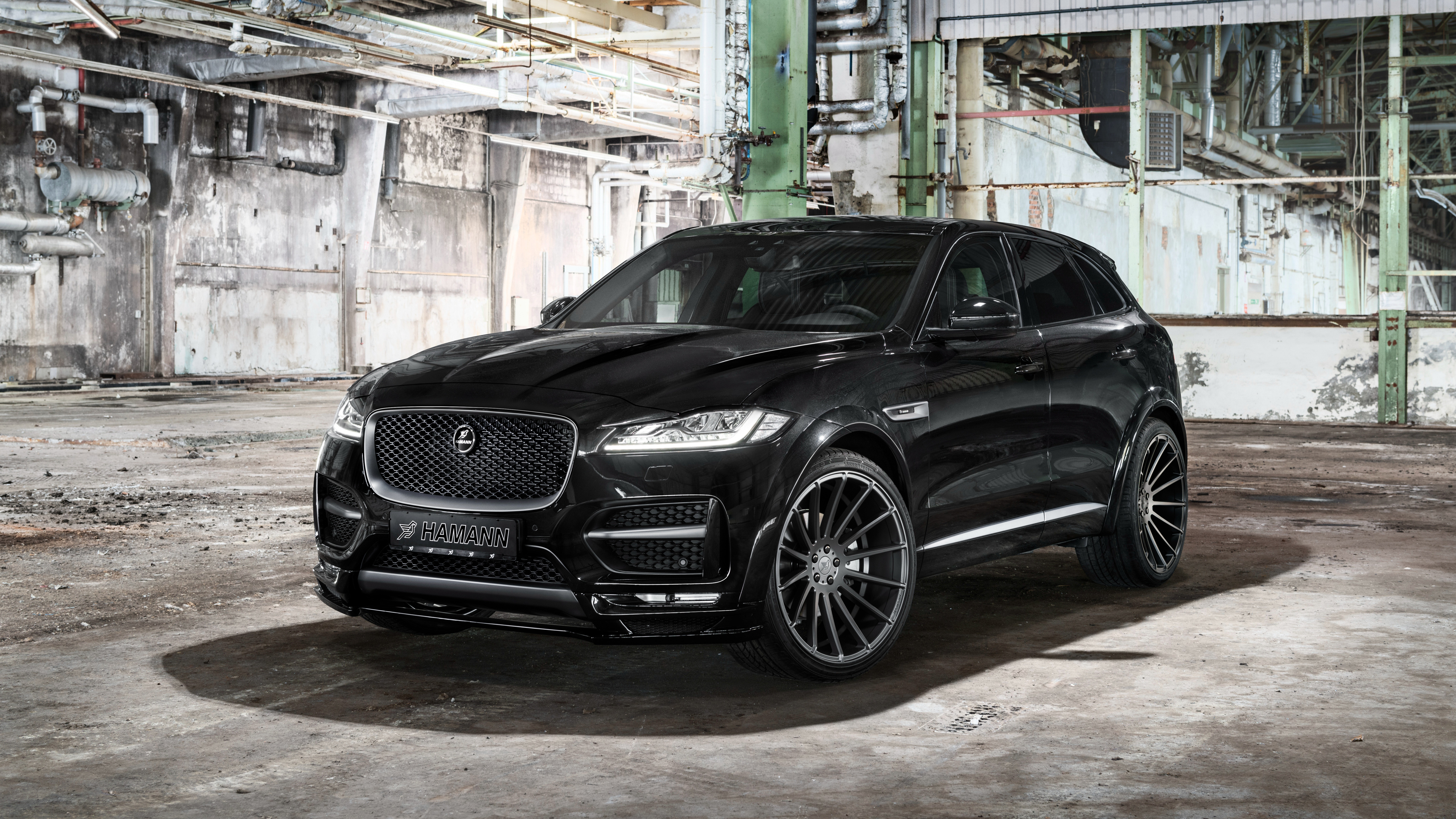 2017 Hamann Jaguar F Pace 4K Wallpaper | HD Car Wallpapers ...