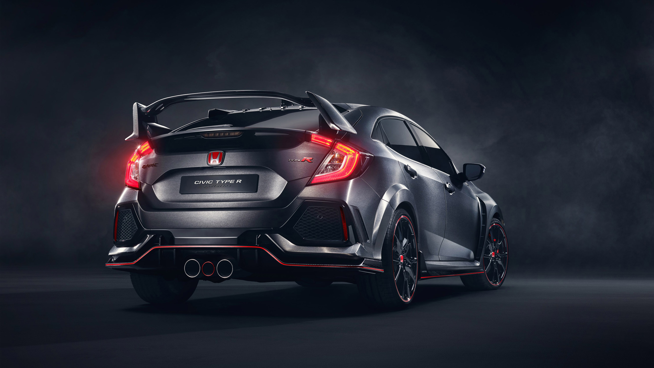 2017 honda civic type r 3 wallpaper hd car wallpapers id 7021. Black Bedroom Furniture Sets. Home Design Ideas