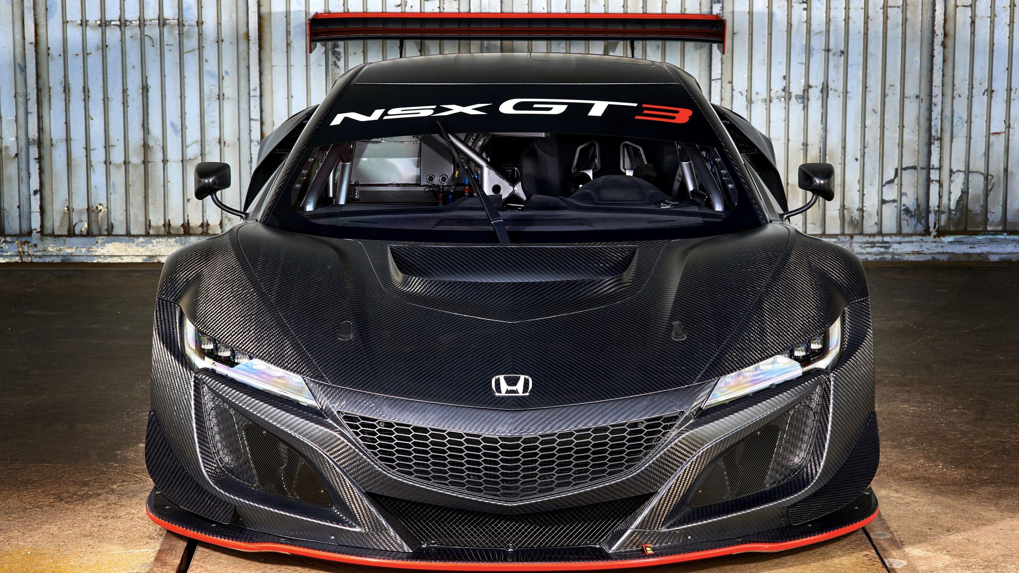 2017 Honda NSX GT3 4K Wallpaper
