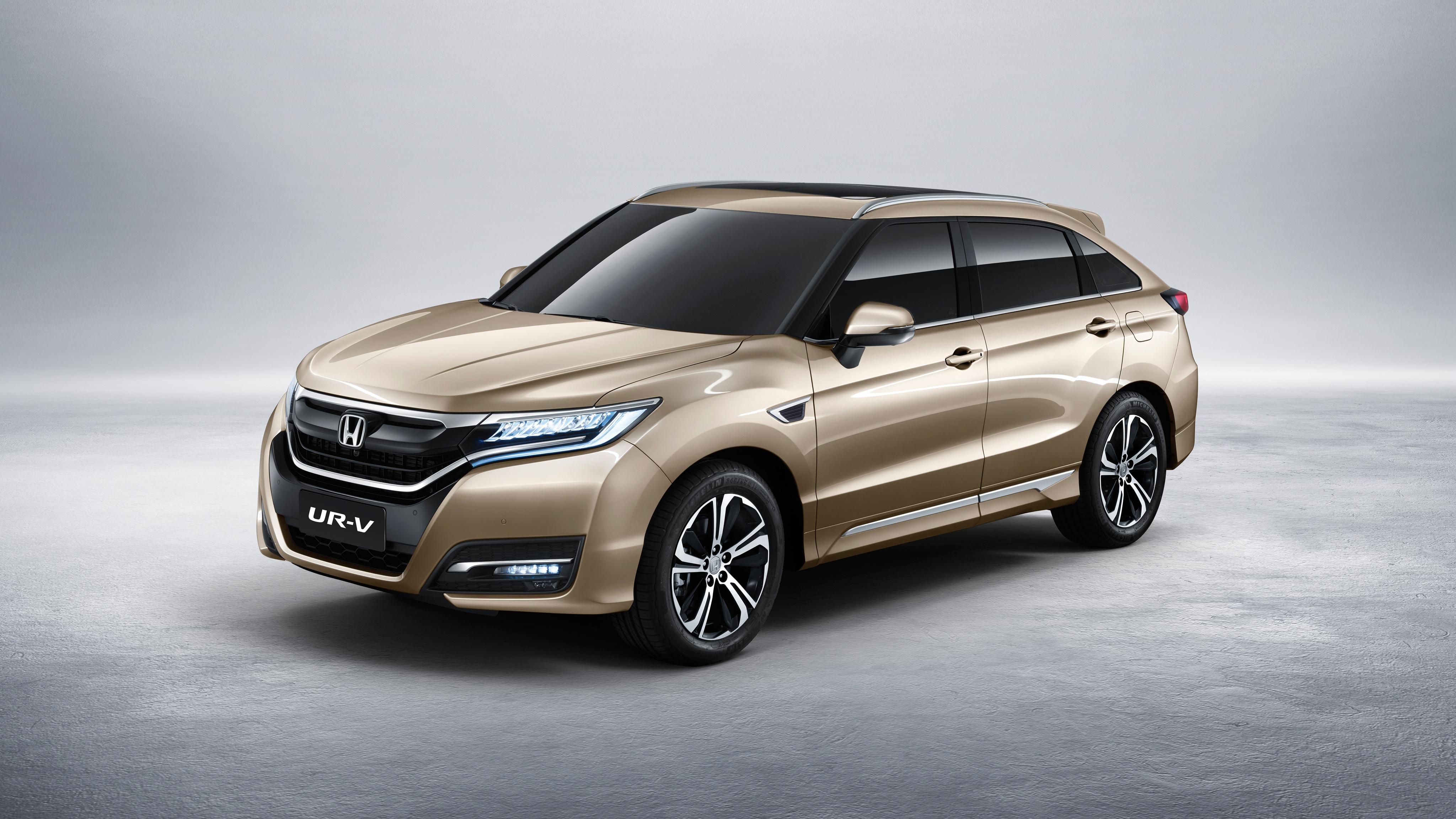 2017 Honda UR V 4K Wallpaper