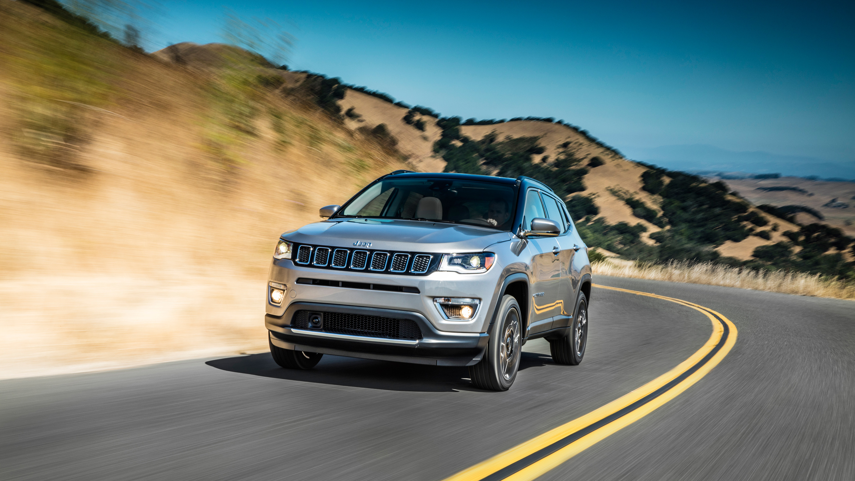 2017 Jeep Compass Limited Wallpaper Hd Car Wallpapers Id 7454