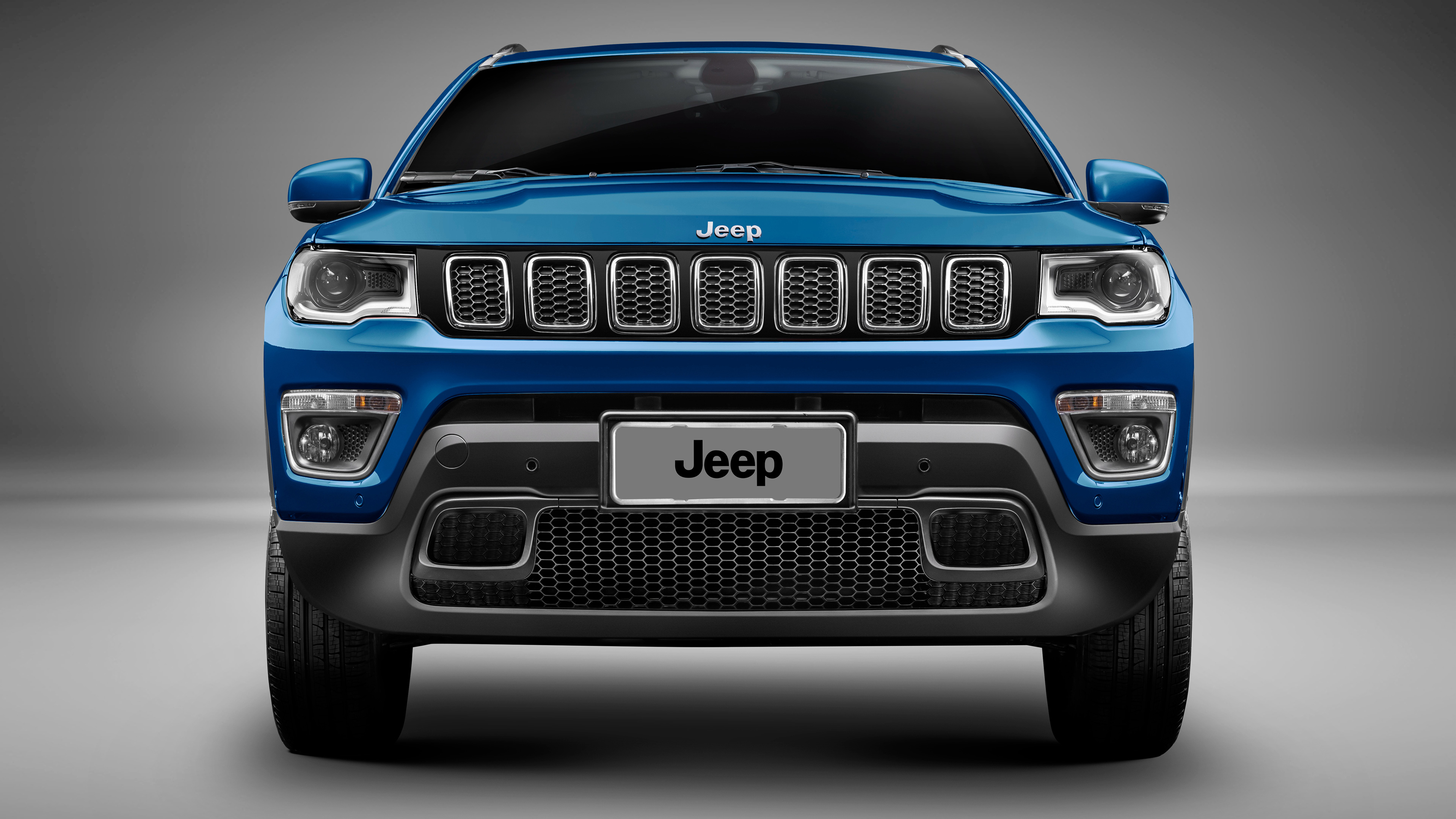 Good 2017 Jeep Compass Longitude 4K Wallpaper