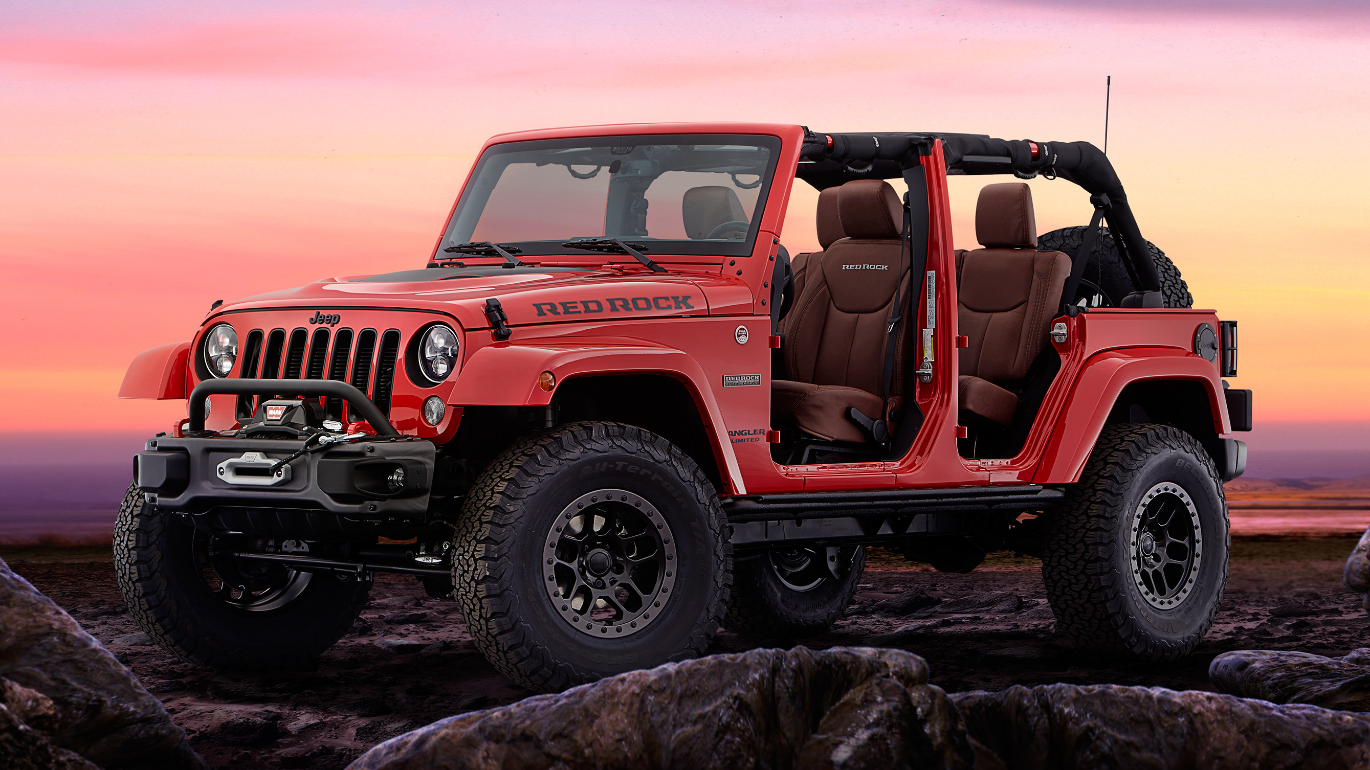 Jeep Car Images Hd: 2017 Jeep Wrangler Red Rock Edition Wallpaper