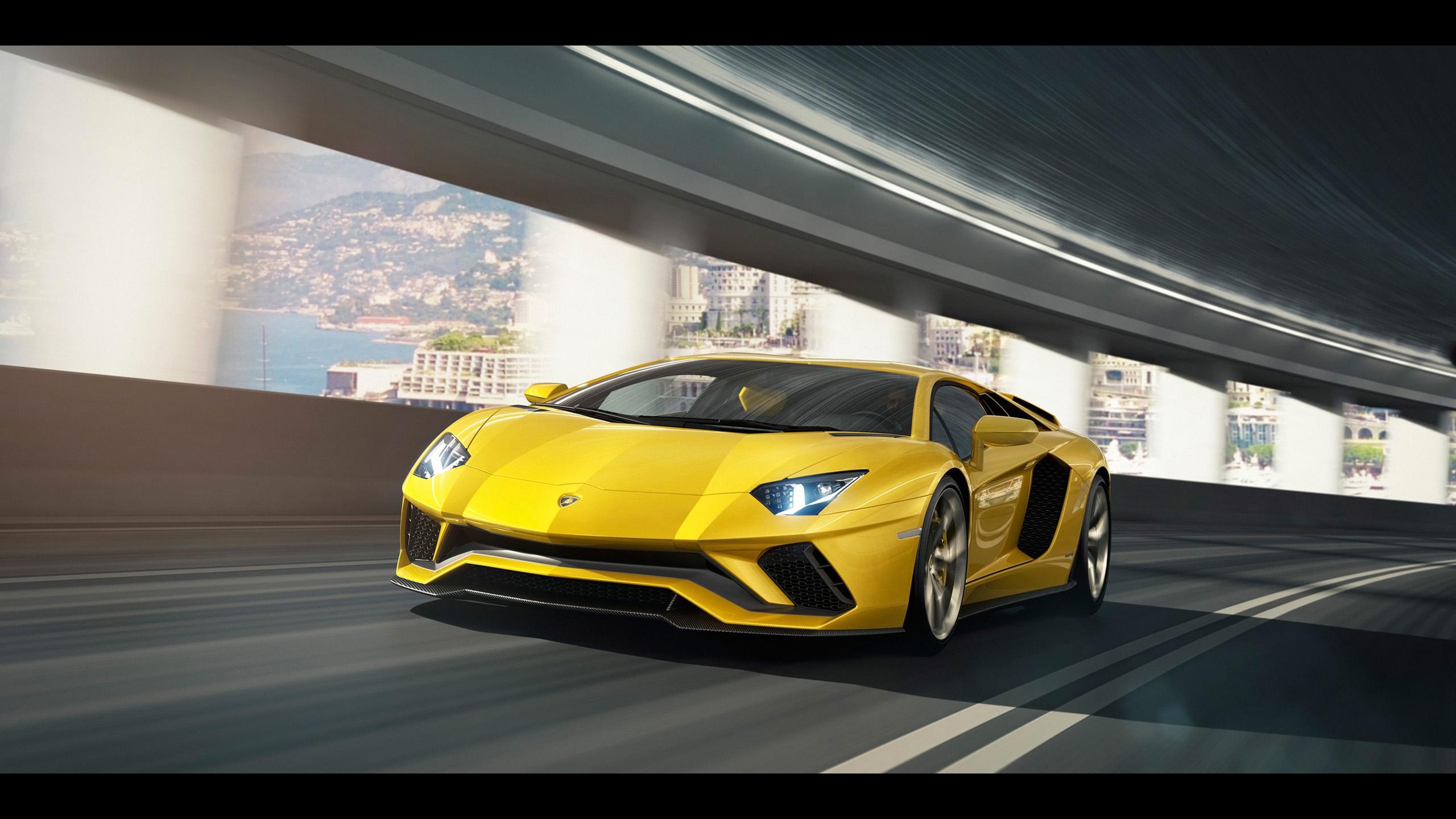 2017 Lamborghini Aventador S 2 Wallpaper Hd Car Wallpapers