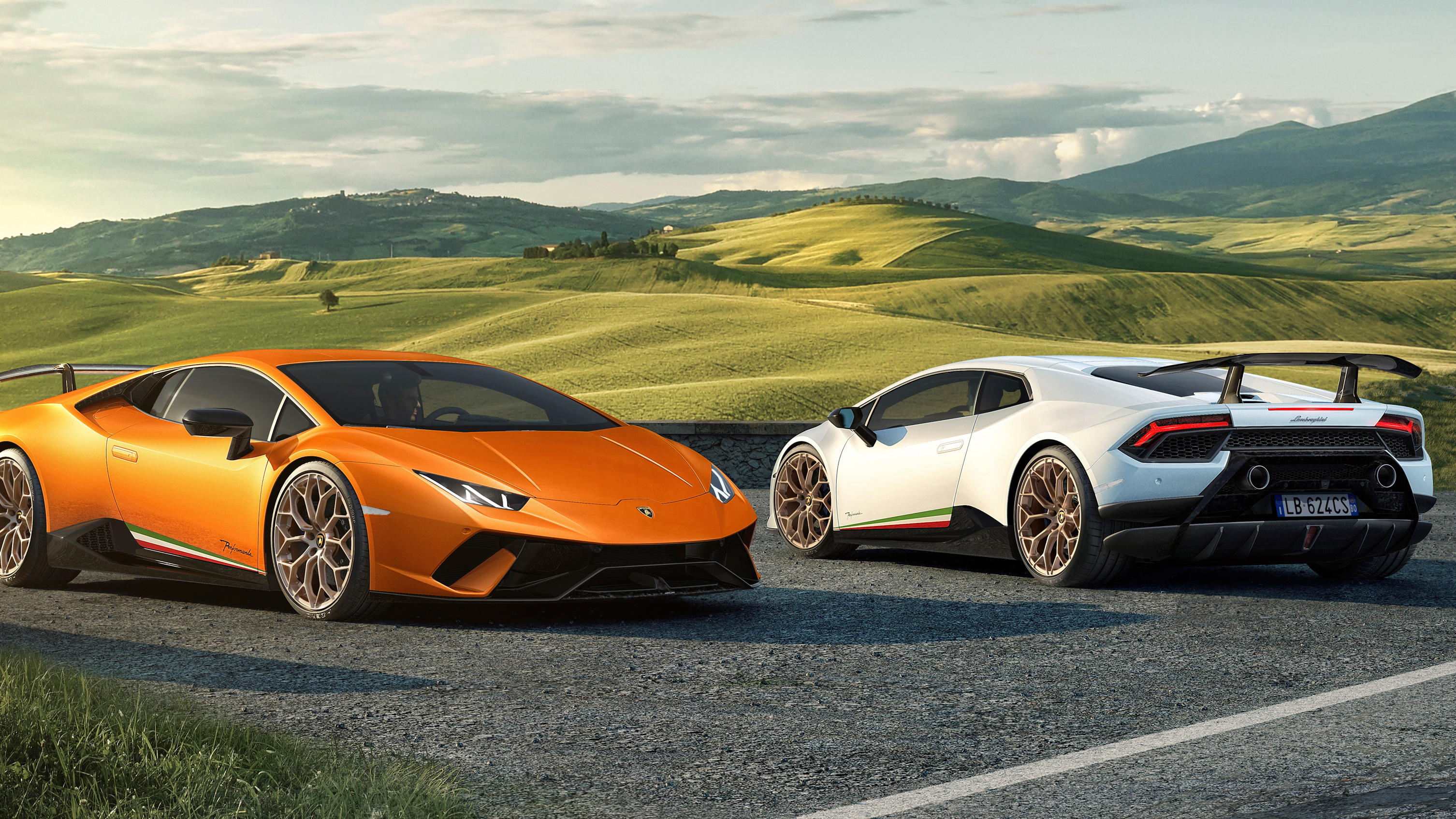 2017 Lamborghini Huracan Performante 3 Wallpaper Hd Car