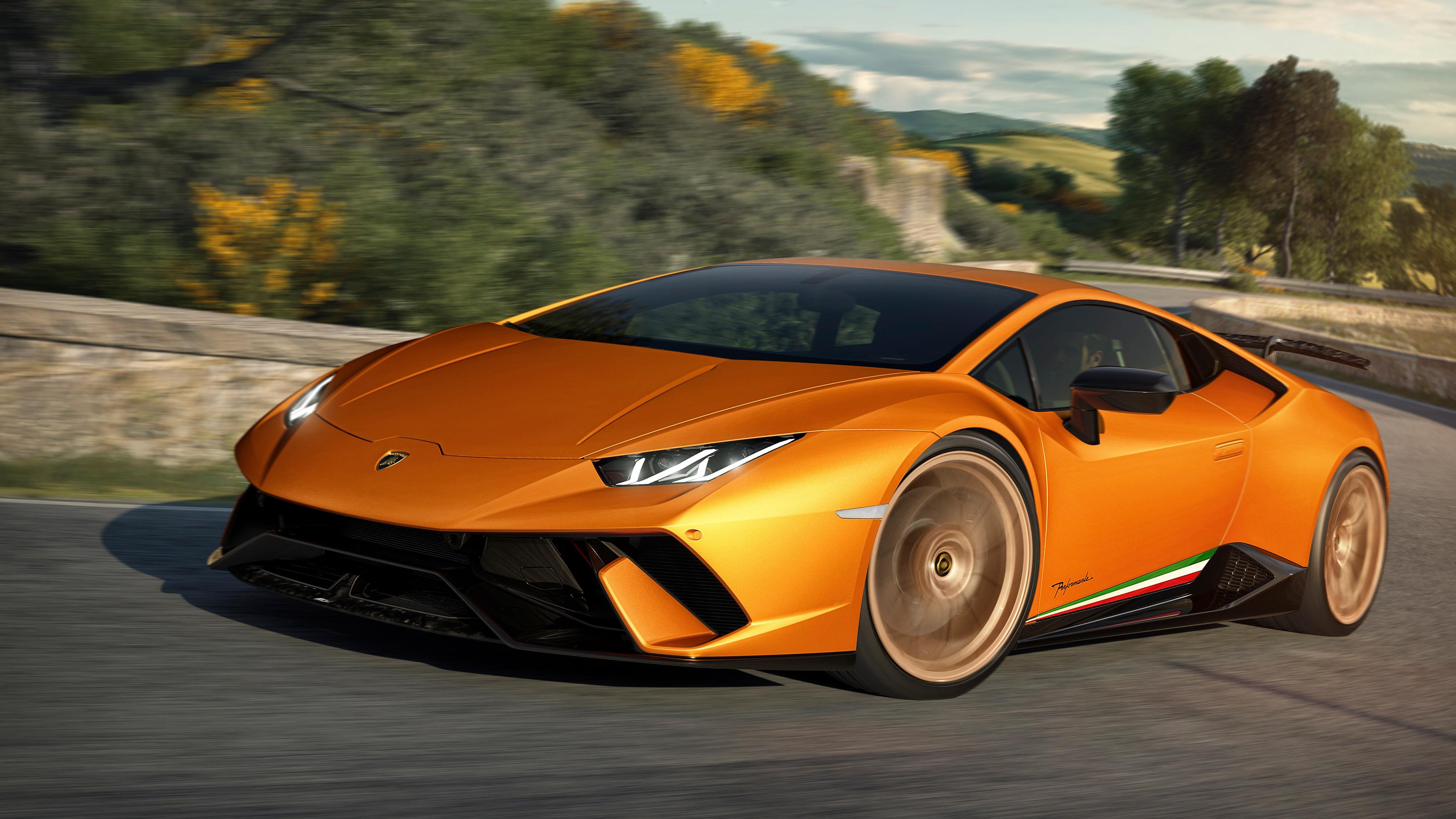 2017 Lamborghini Huracan Performante 4 Wallpaper Hd Car Wallpapers