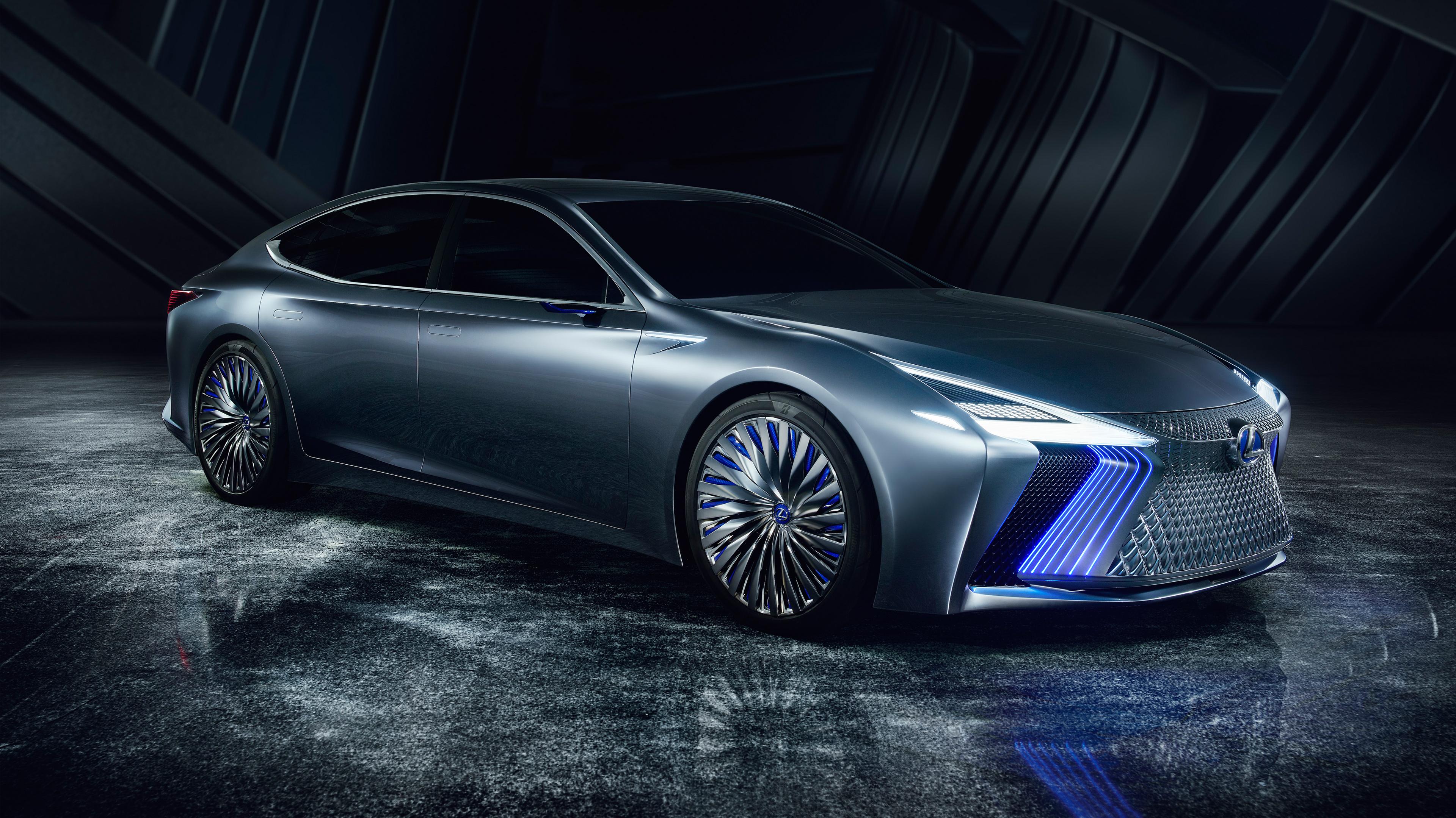 2017 Lexus LS Plus Concept 4K 2 Wallpaper | HD Car ...