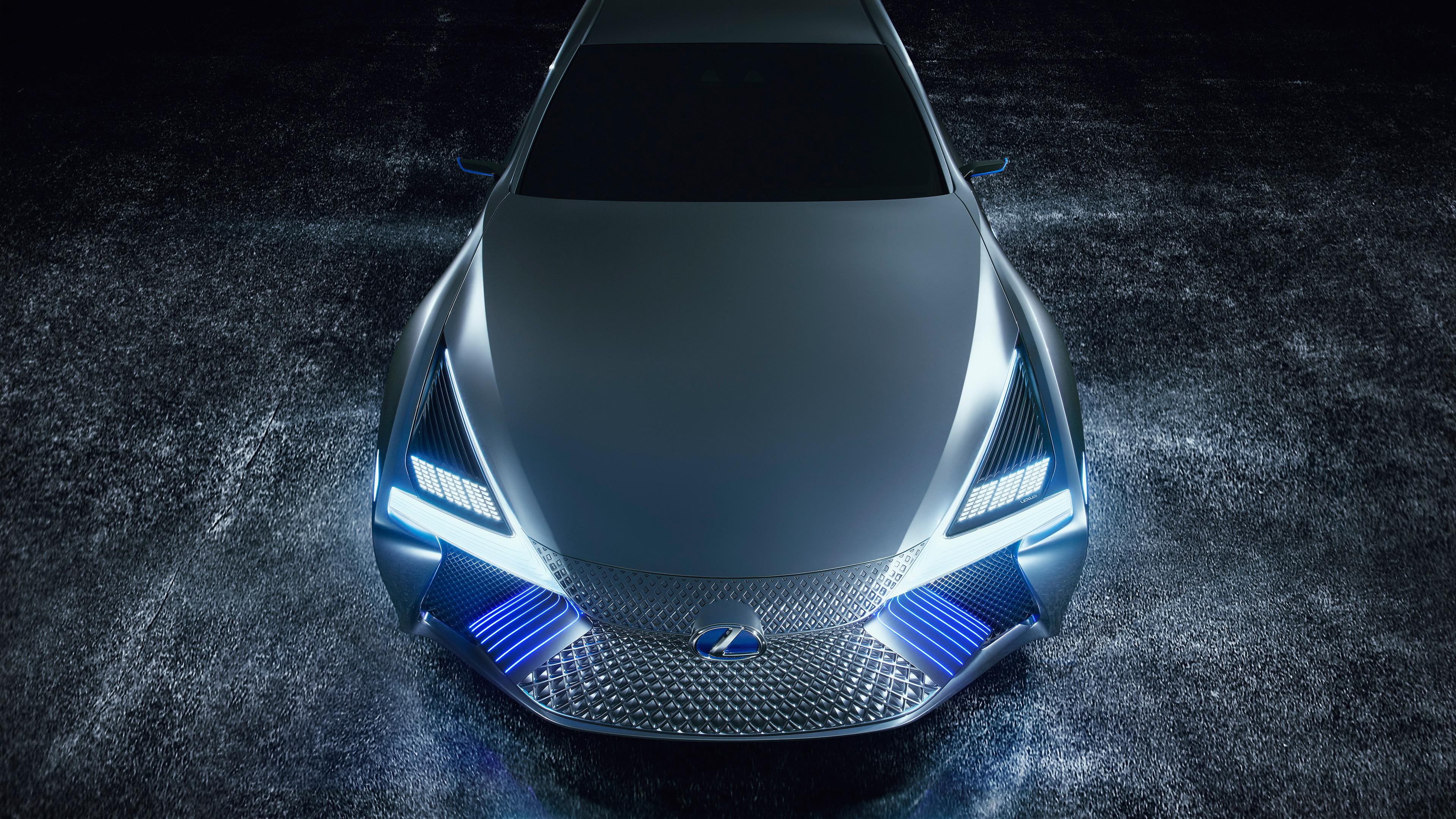 2017 Lexus LS Plus Concept 4K 6 Wallpaper | HD Car ...