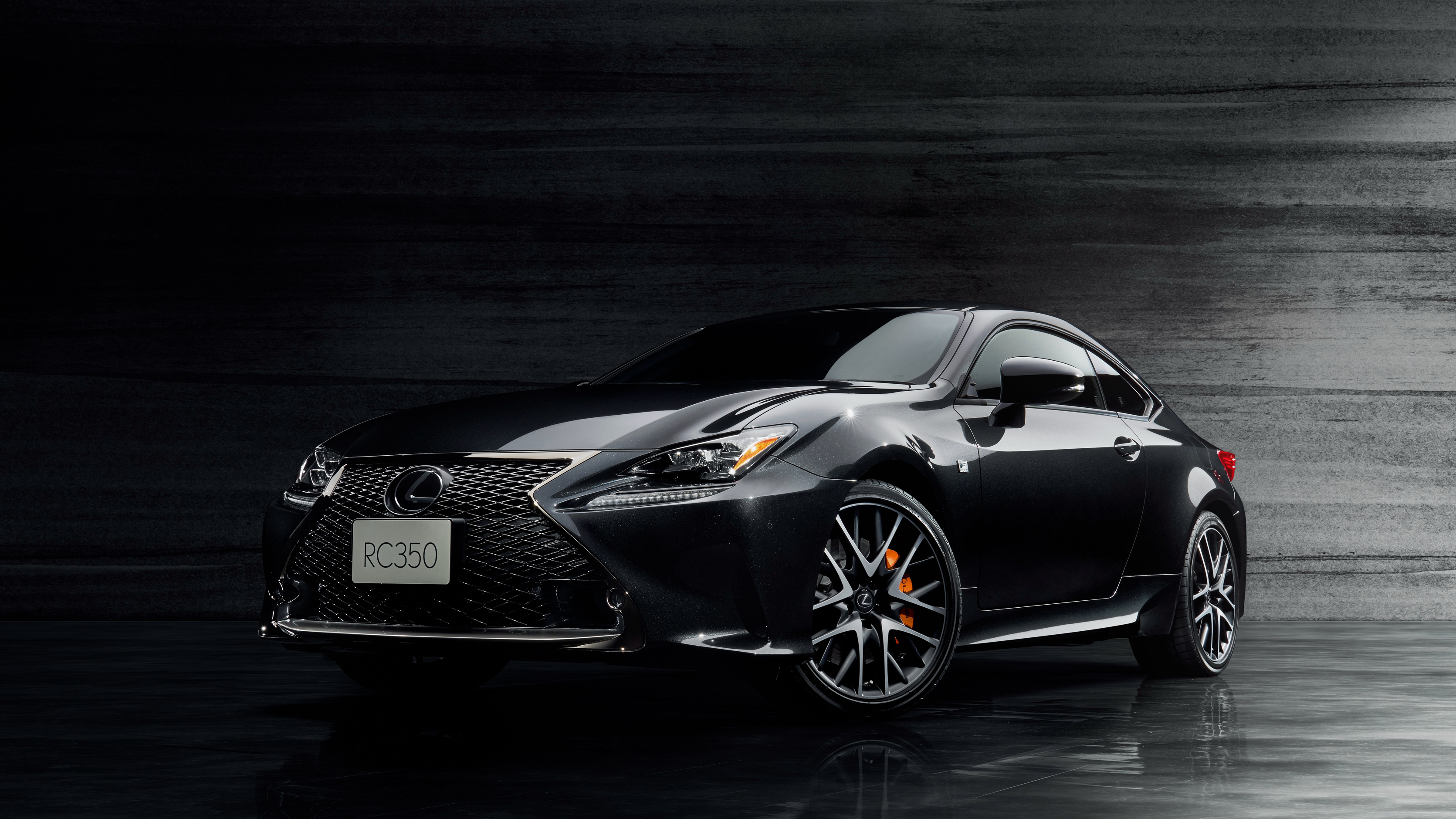 2017 Lexus RC 350 F SPORT Prime Black Wallpaper | HD Car ...