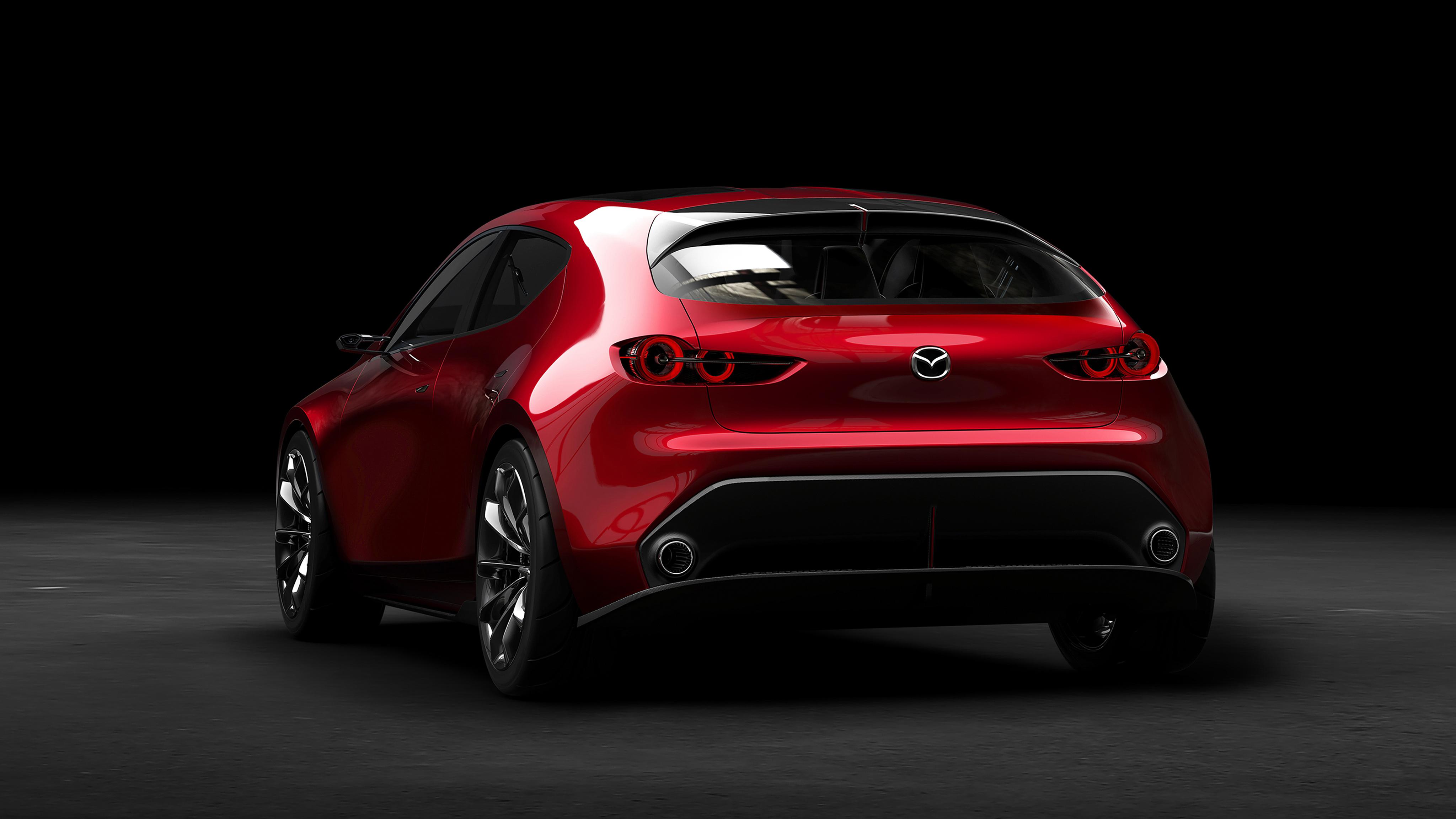 Acura Sedan 2017 >> 2017 Mazda Kai Concept 4K 2 Wallpaper | HD Car Wallpapers | ID #8899