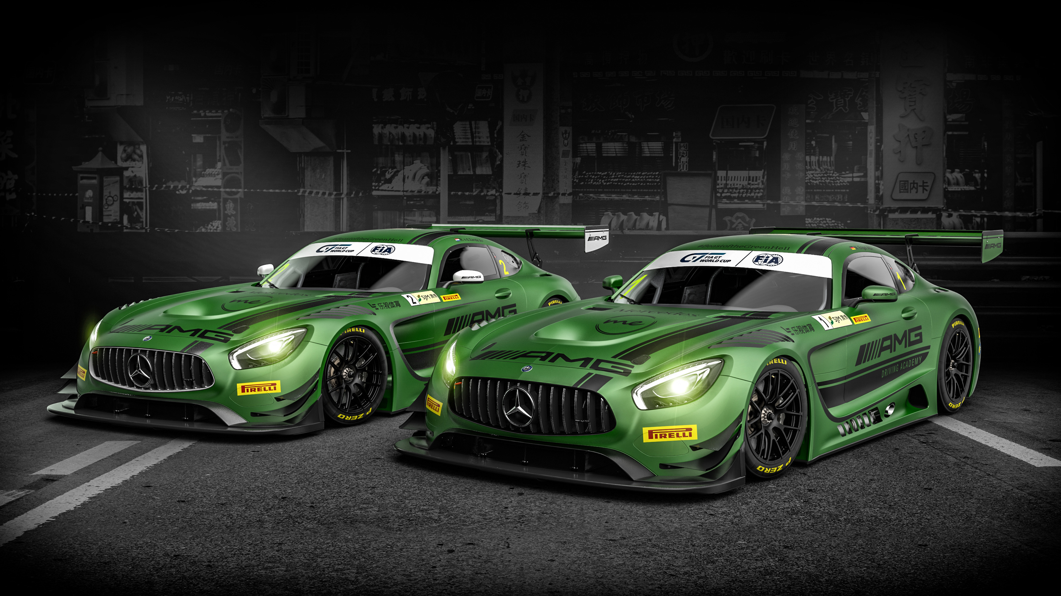2017 mercedes amg gt3 wallpaper hd car wallpapers id 7149. Black Bedroom Furniture Sets. Home Design Ideas