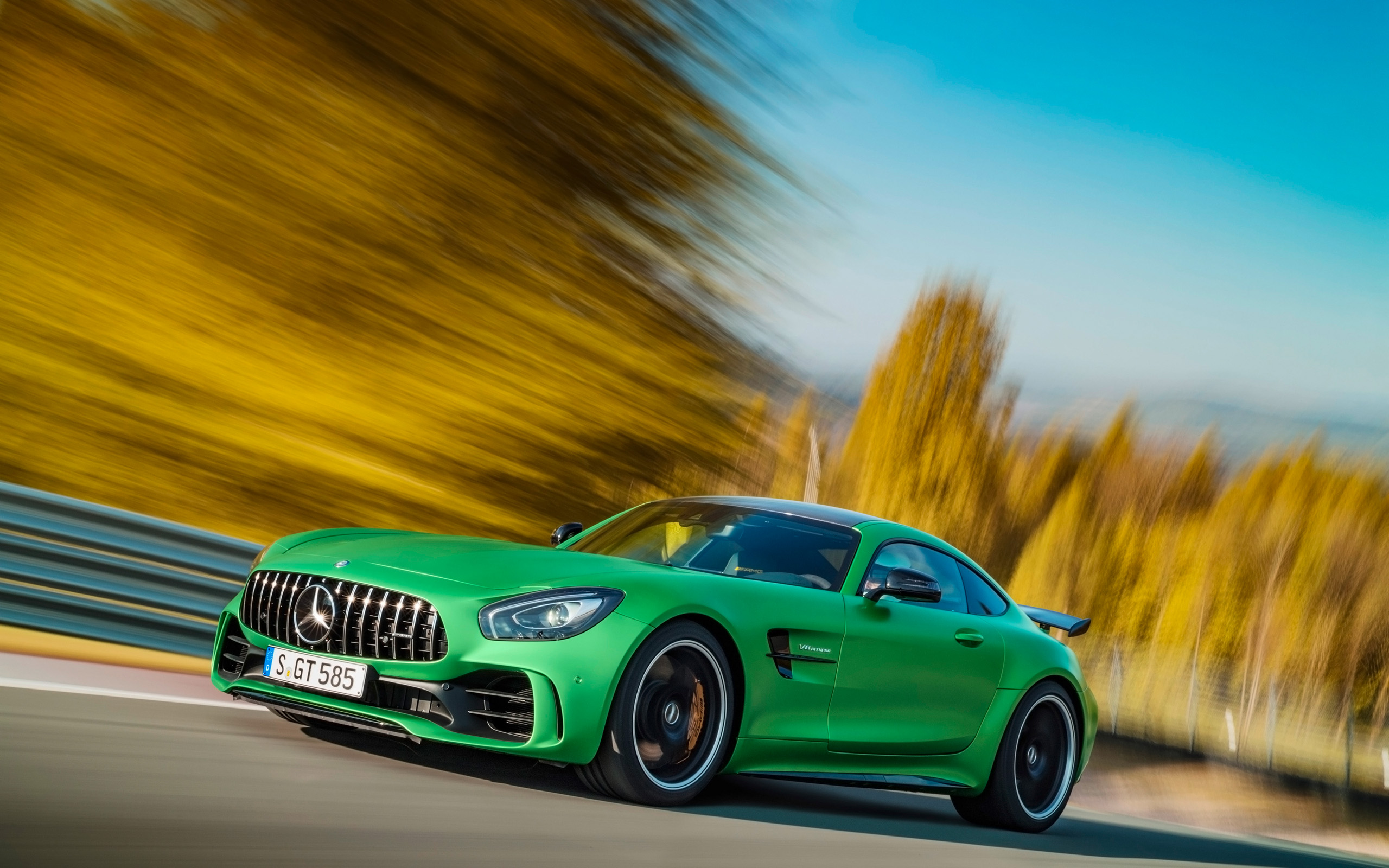 2017 Mercedes Amg Gt R Wallpaper Hd Car Wallpapers Id 6757