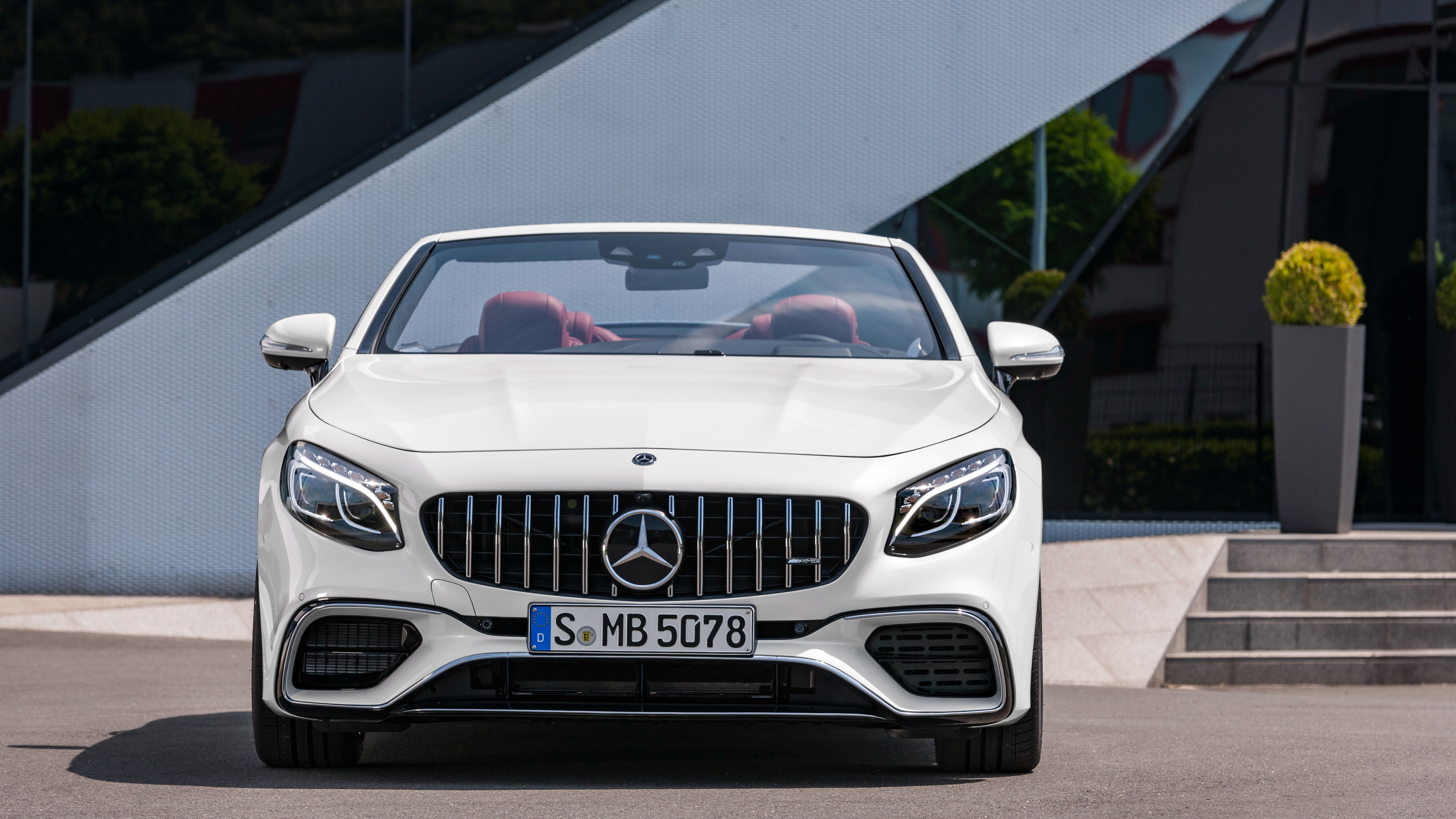 2017 Mercedes Amg S 63 4matic Cabriolet 4k Wallpaper Hd Car Wallpapers Id 8442