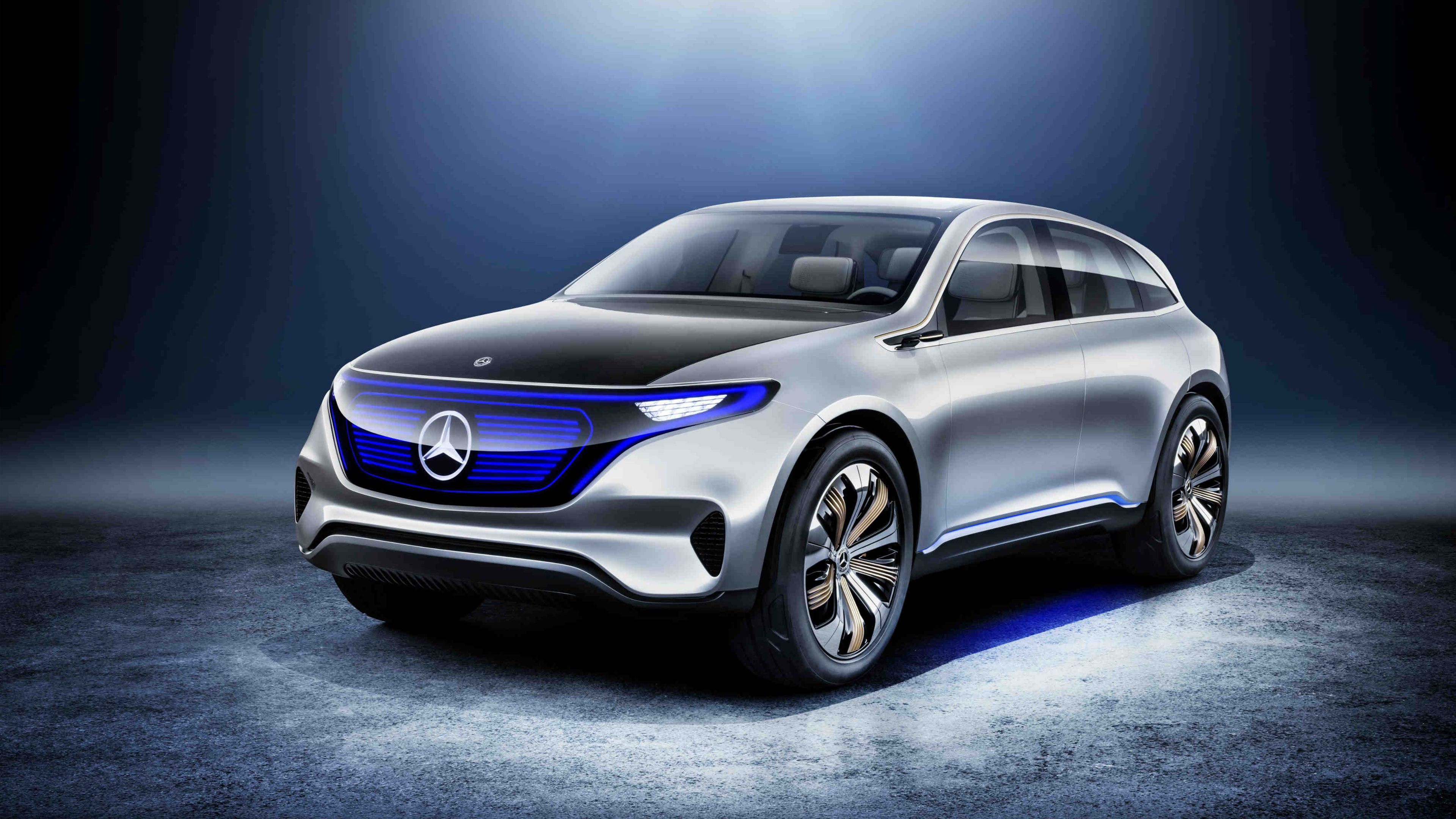 2017 Mercedes Benz Generation EQ 4K Wallpaper | HD Car ...