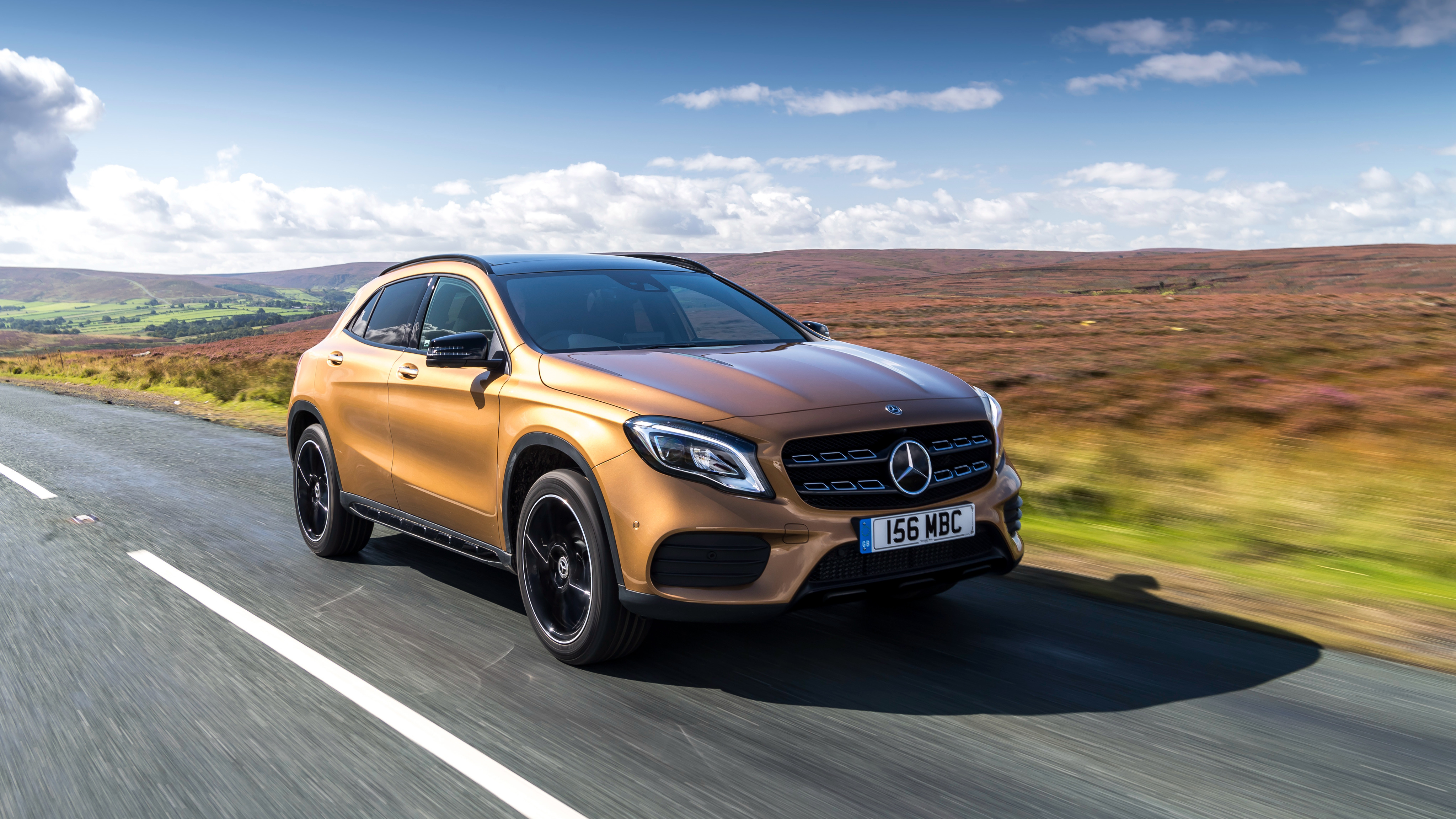 2017 mercedes benz gla 220d 4matic amg line 4k 2 wallpaper hd car wallpapers id 8964. Black Bedroom Furniture Sets. Home Design Ideas