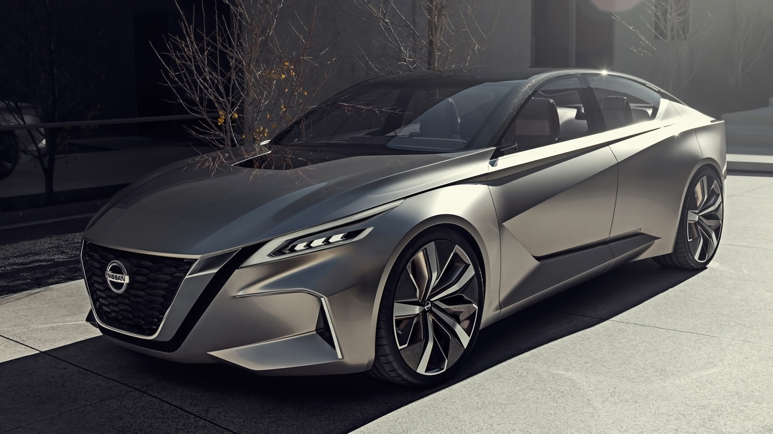 2017 Nissan Vmotion 2 Concept 5 Wallpaper Hd Car Wallpapers Id