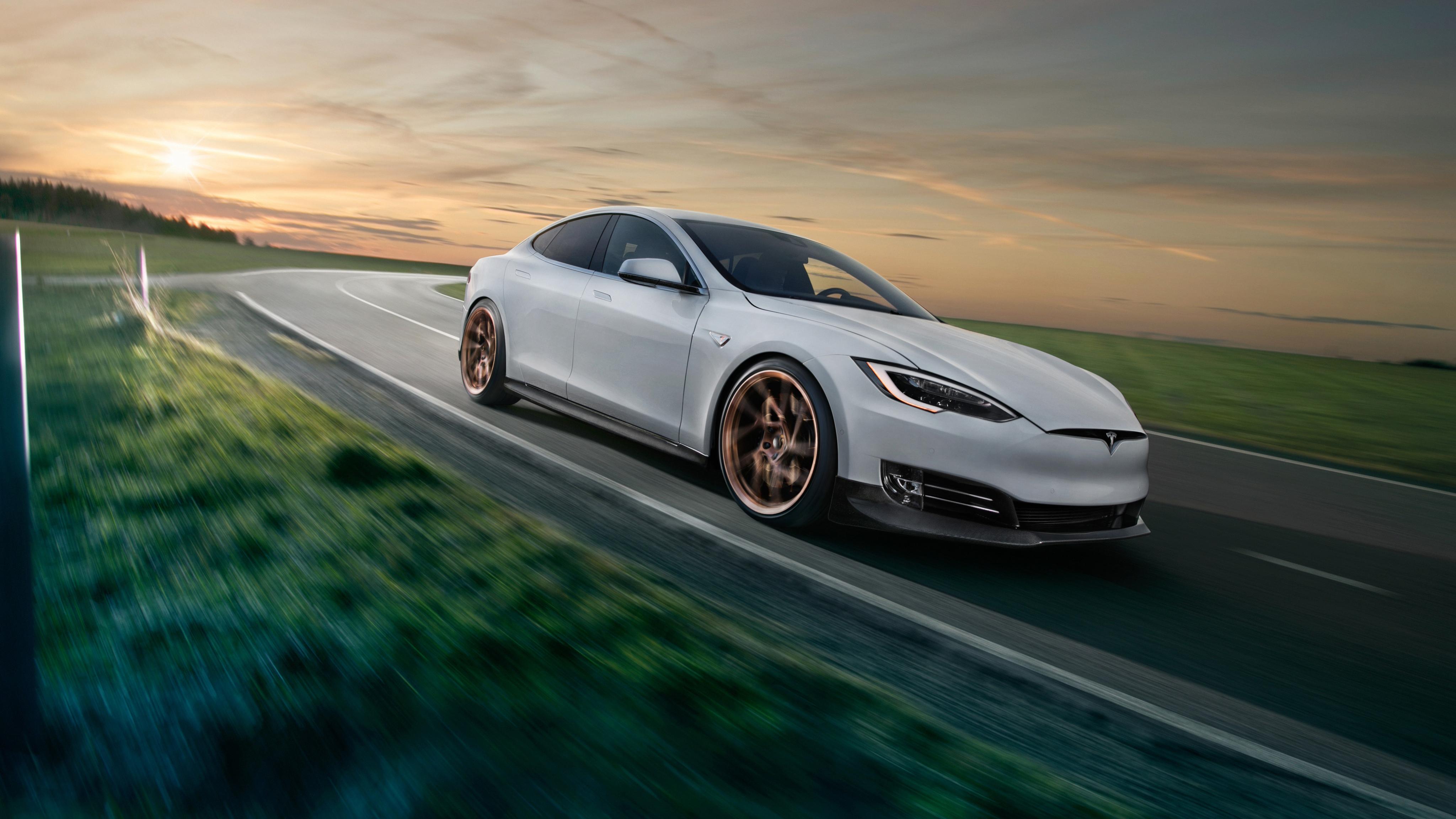2017 Novitec Tesla Model S 4K 2