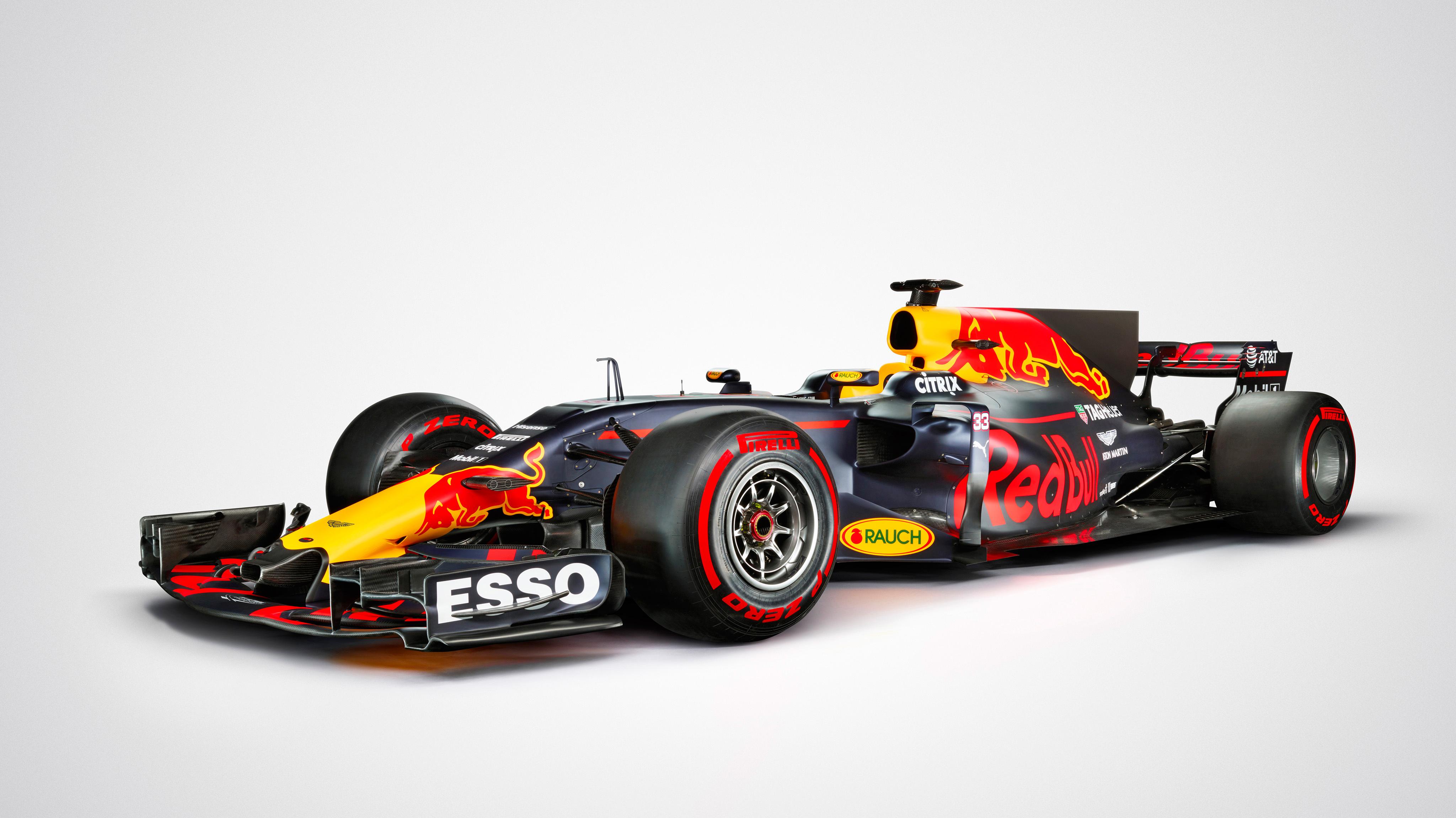 2017 red bull rb13 formula 1 car 4k wallpaper | hd car wallpapers