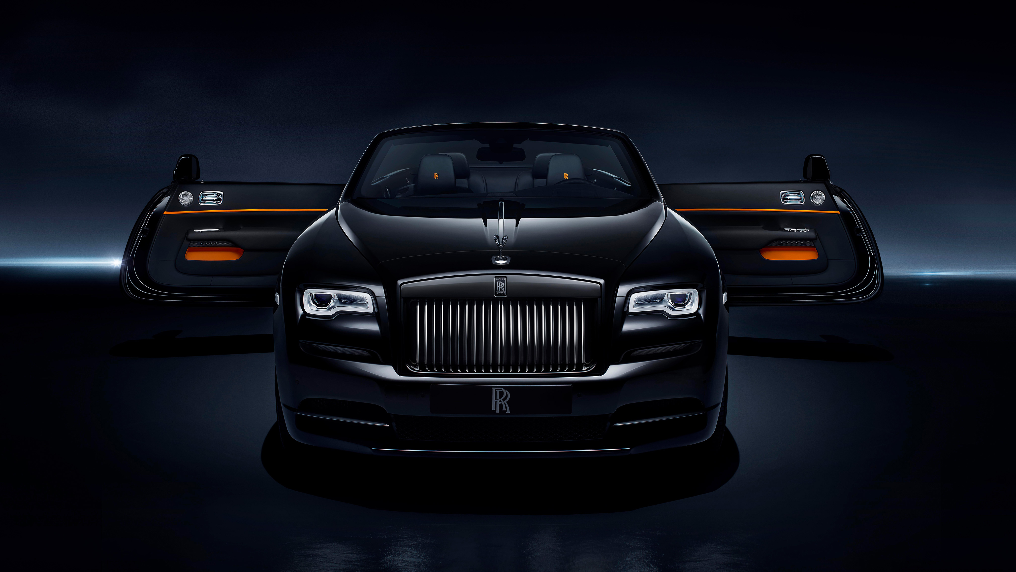 2017 Rolls Royce Dawn Black Badge 4K Wallpaper | HD Car ...