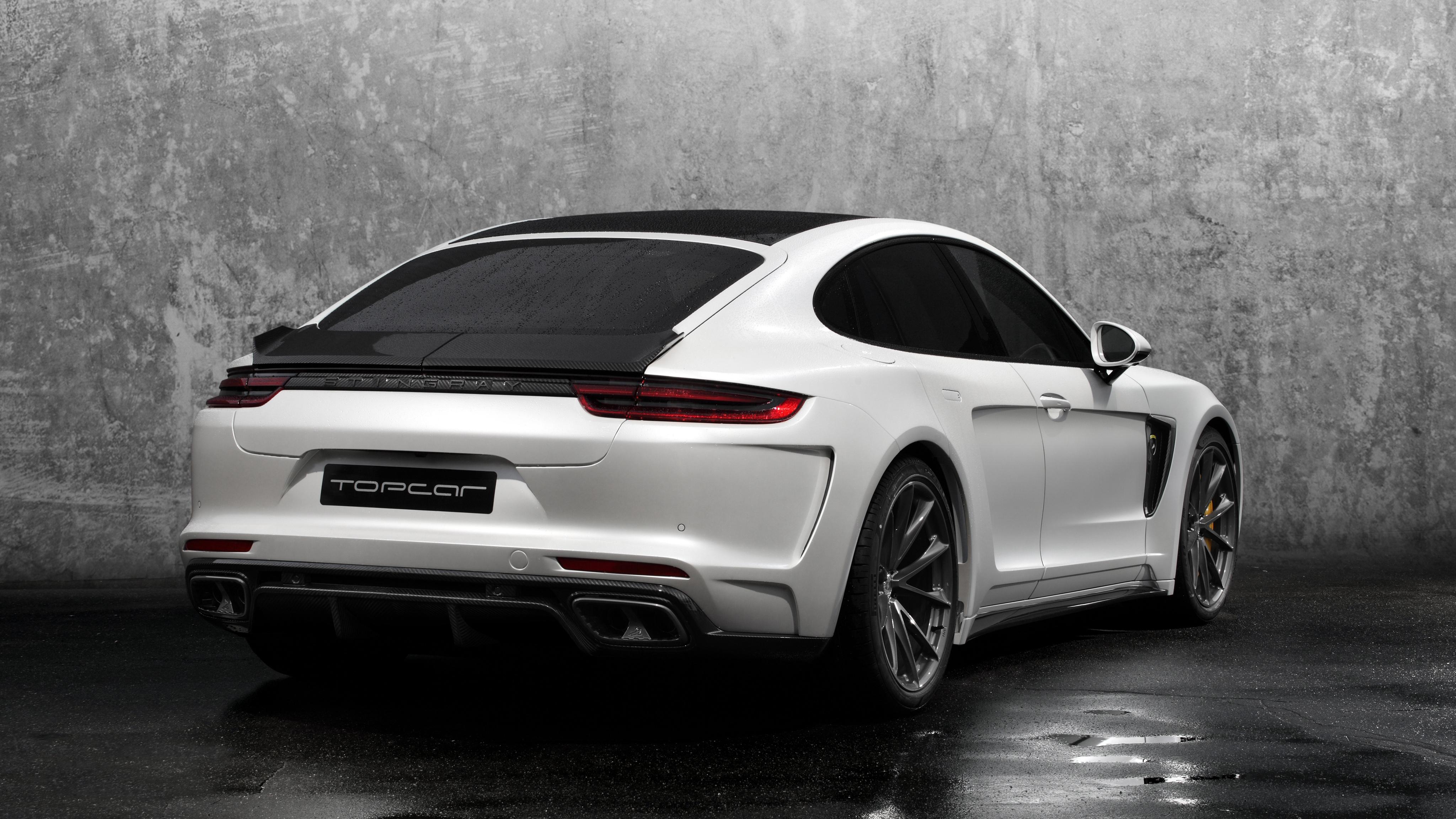 2017 Topcar Porsche Panamera Stingray Gtr 2 Wallpaper Hd