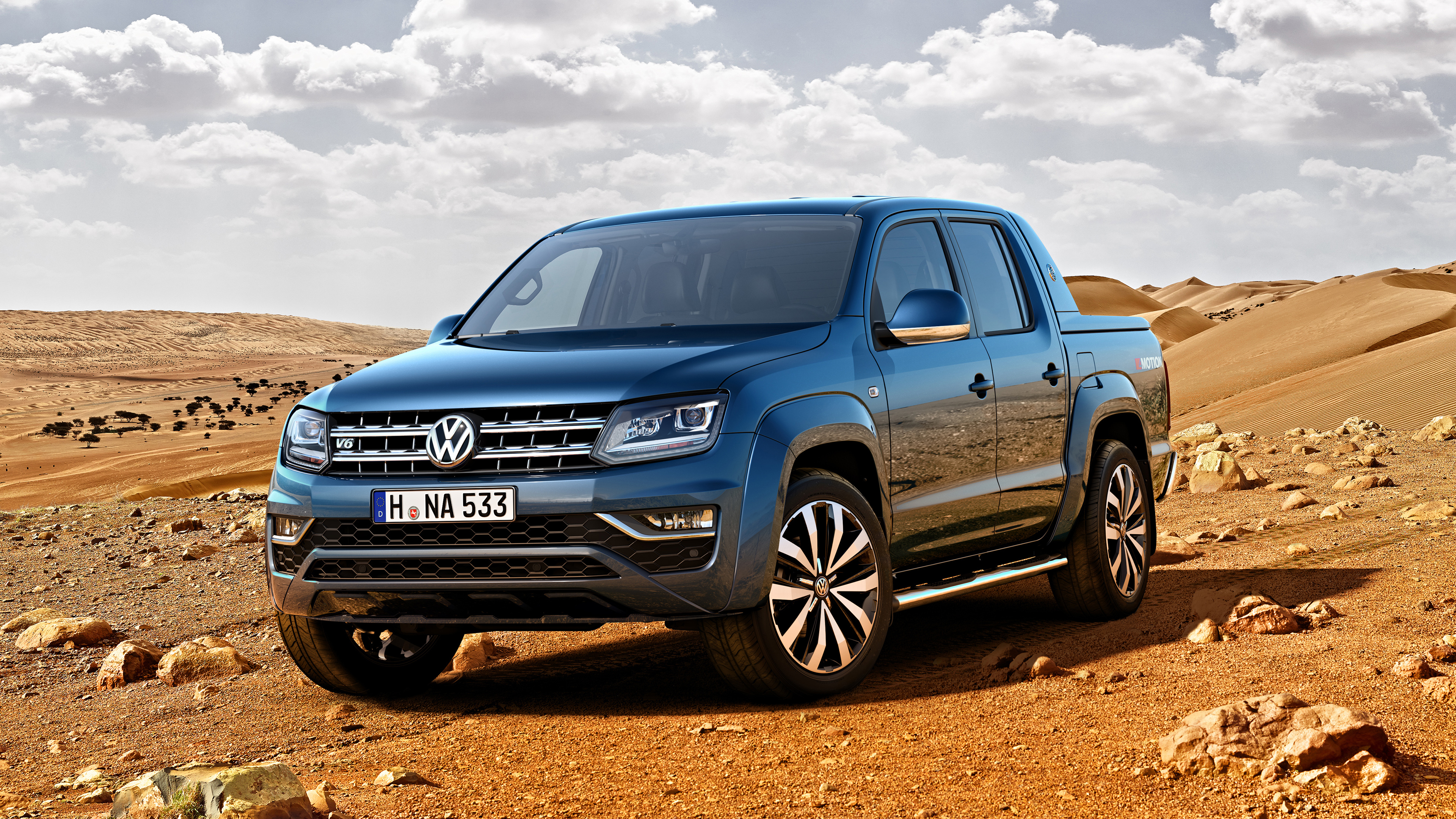 2017 Volkswagen Amarok Wallpaper Hd Car Wallpapers