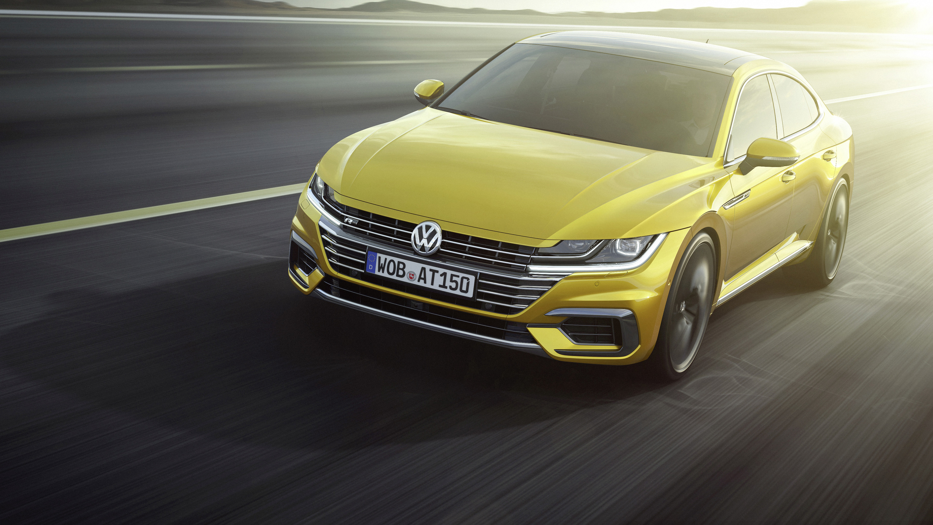 2017 Volkswagen Arteon R Line 4k Wallpaper Hd Car Wallpapers