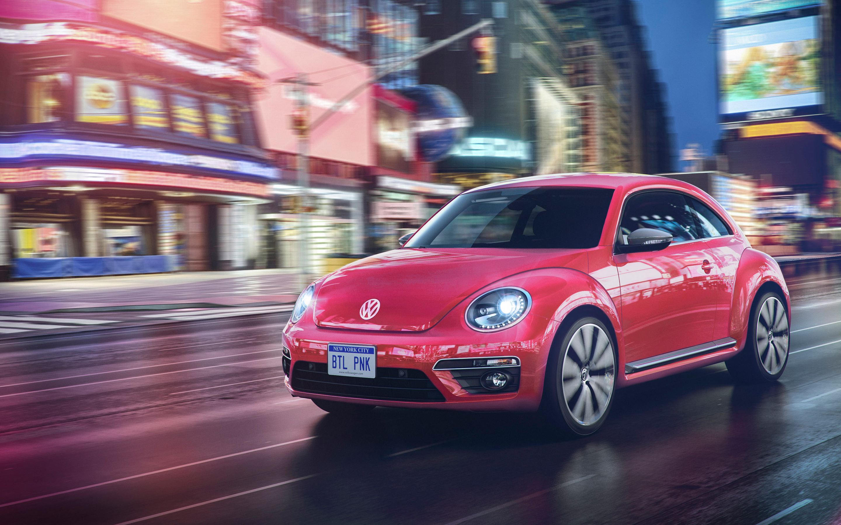 2017 Volkswagen Pink Beetle Limited Edition Wallpaper | HD ...