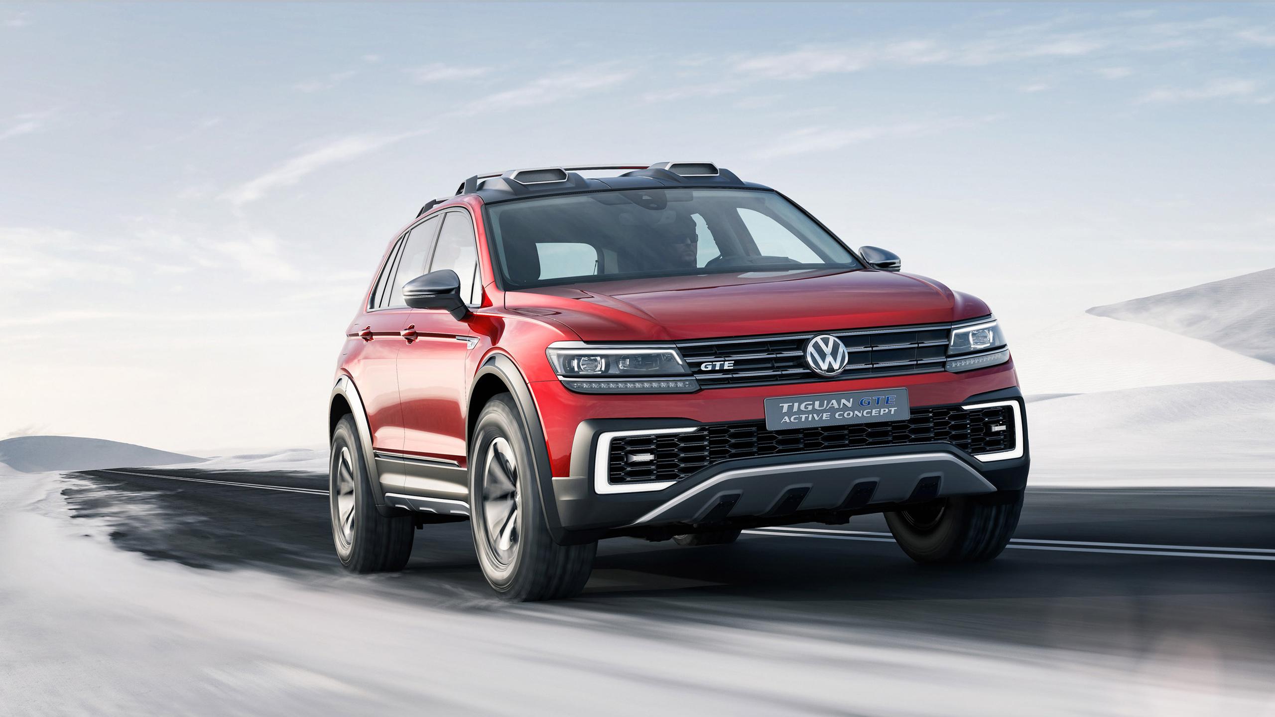 2017 Volkswagen Tiguan GTE Active Concept 3 Wallpaper | HD ...