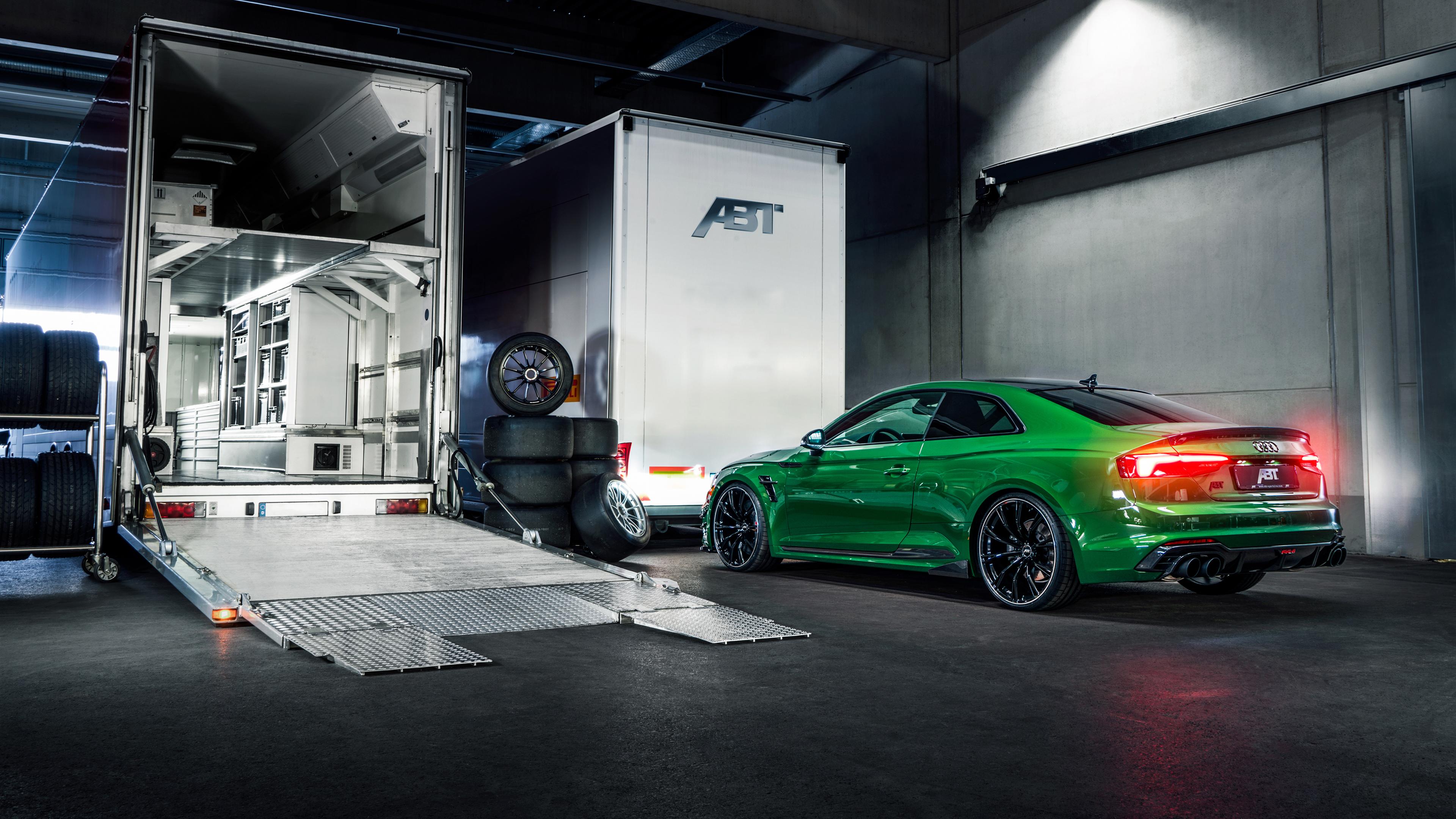 Audi Rs5 Sportback 4k 2019 Wallpapers: 2018 ABT Audi RS5 R Coupe Rear 4K Wallpaper