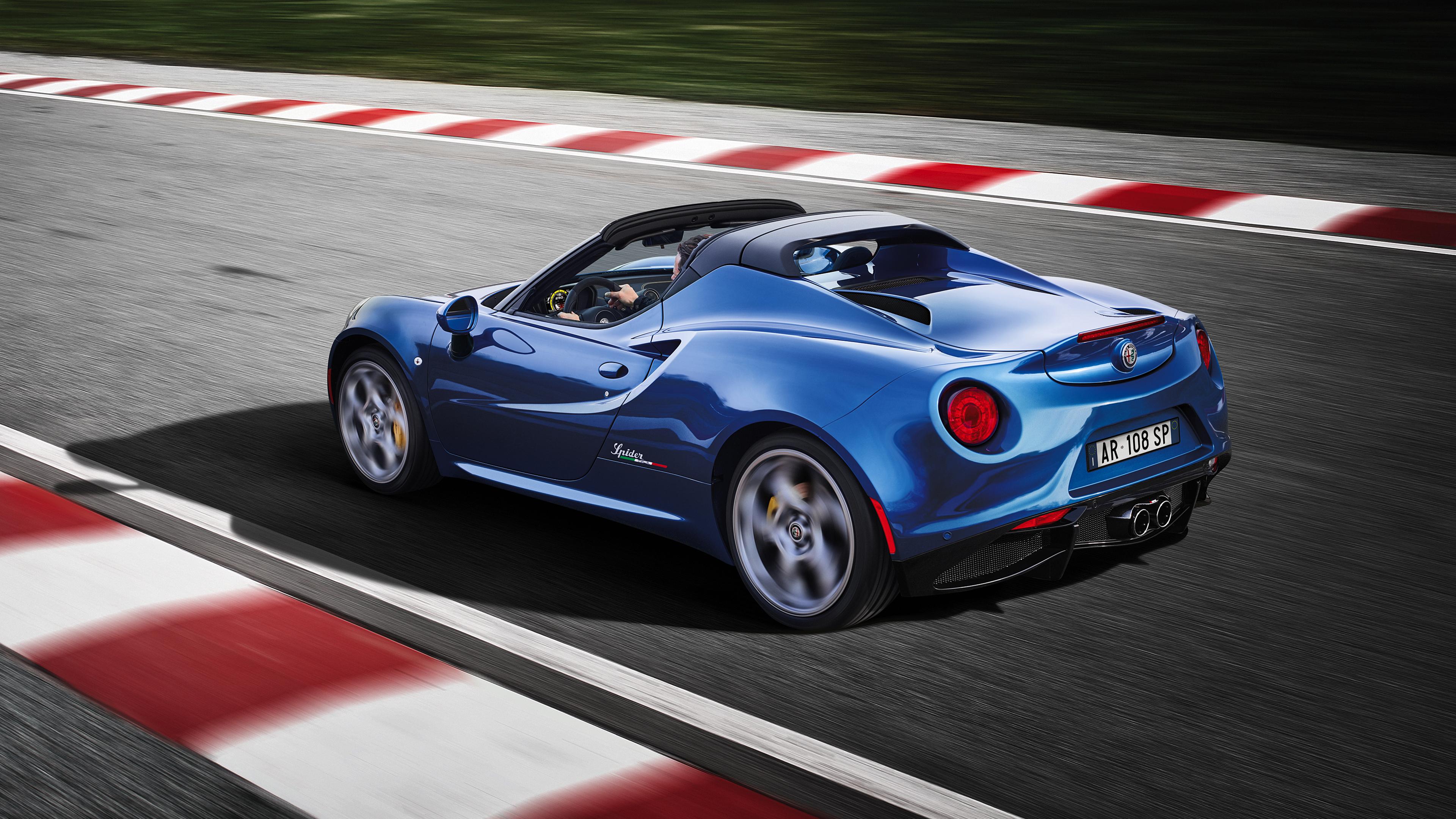 2018 Alfa Romeo 4c Spider Italia 4k 2 Wallpaper Hd Car