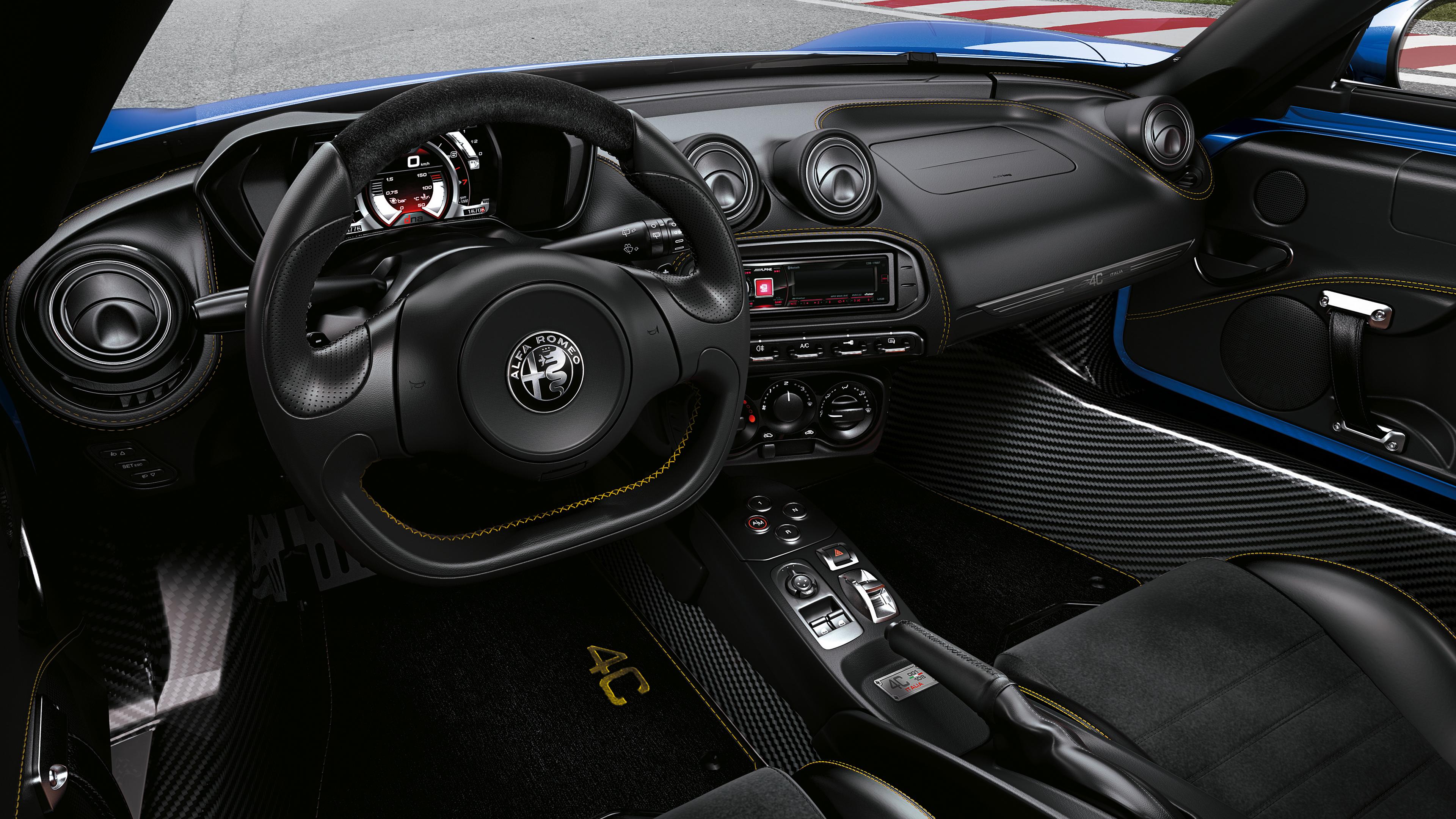 2018 Alfa Romeo 4c Spider Italia 4k 3 Wallpaper Hd Car