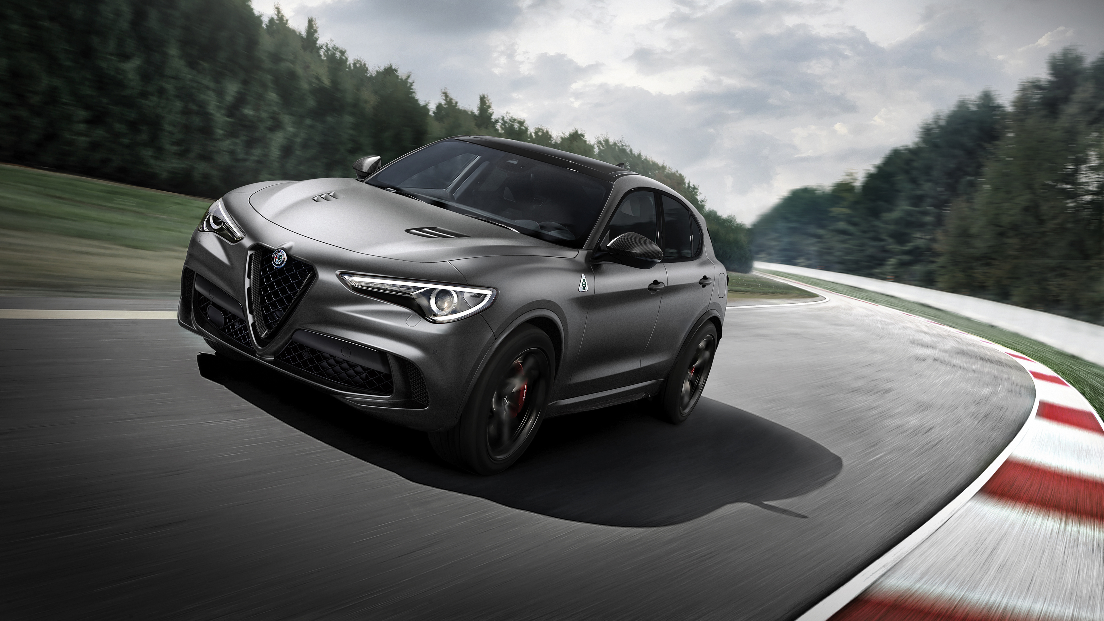 2018 Alfa Romeo Stelvio Quadrifoglio 4k Wallpaper Hd Car