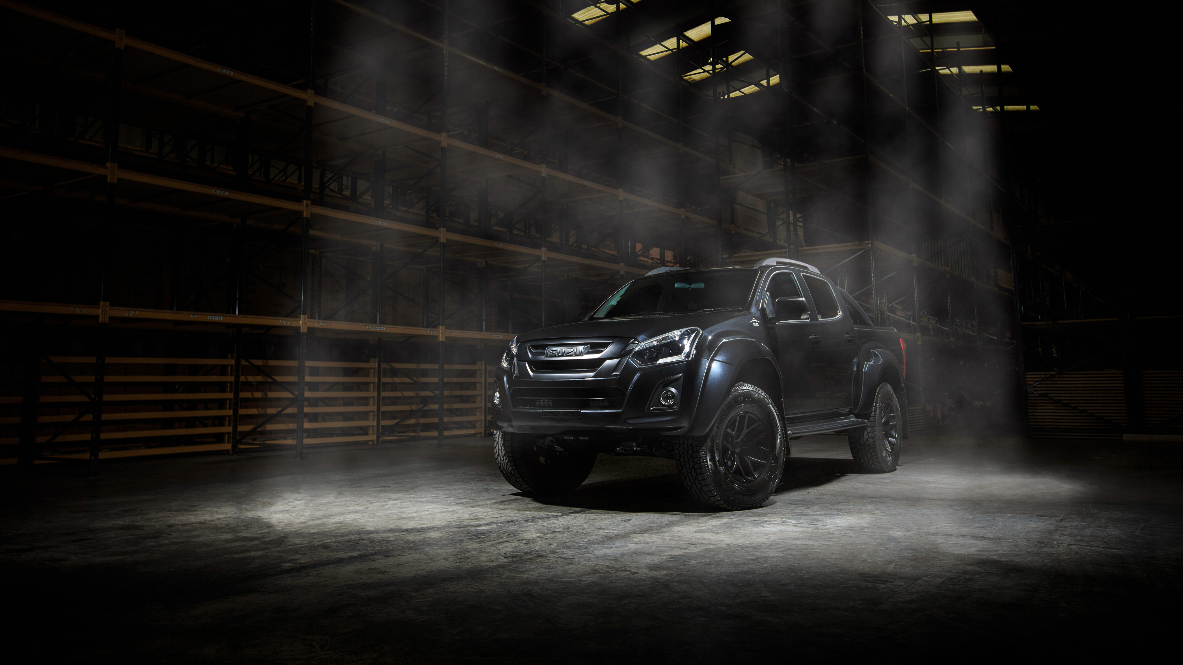 2018 Arctic Trucks Isuzu D Max Stealth 4K 2 Wallpaper