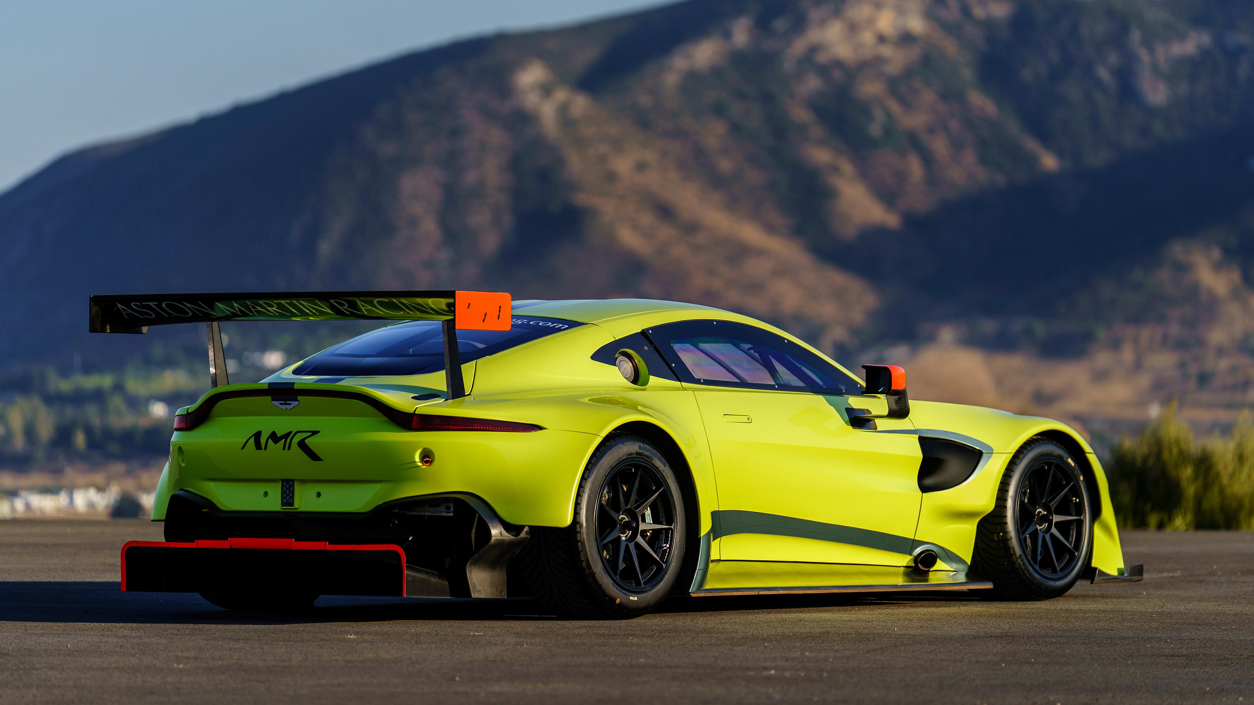 2018 Aston Martin Vantage Gte 4k 7 Wallpaper Hd Car Wallpapers Id 9156