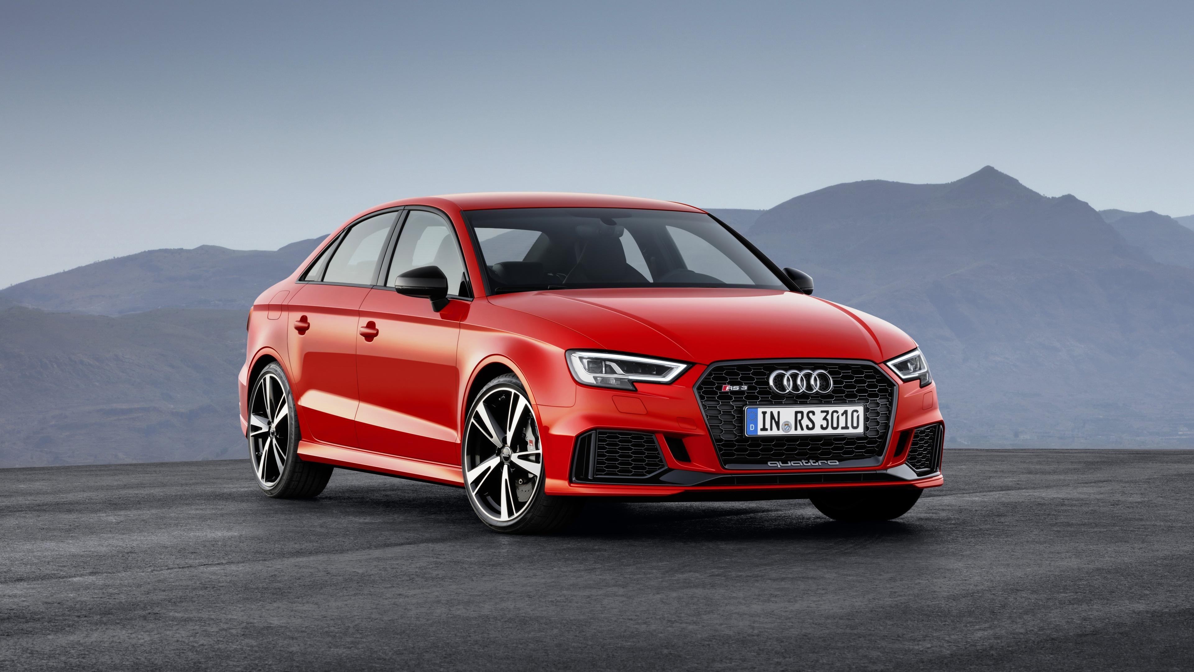 2018 Audi Rs3 Sedan Wallpaper Hd Car Wallpapers Id 7152