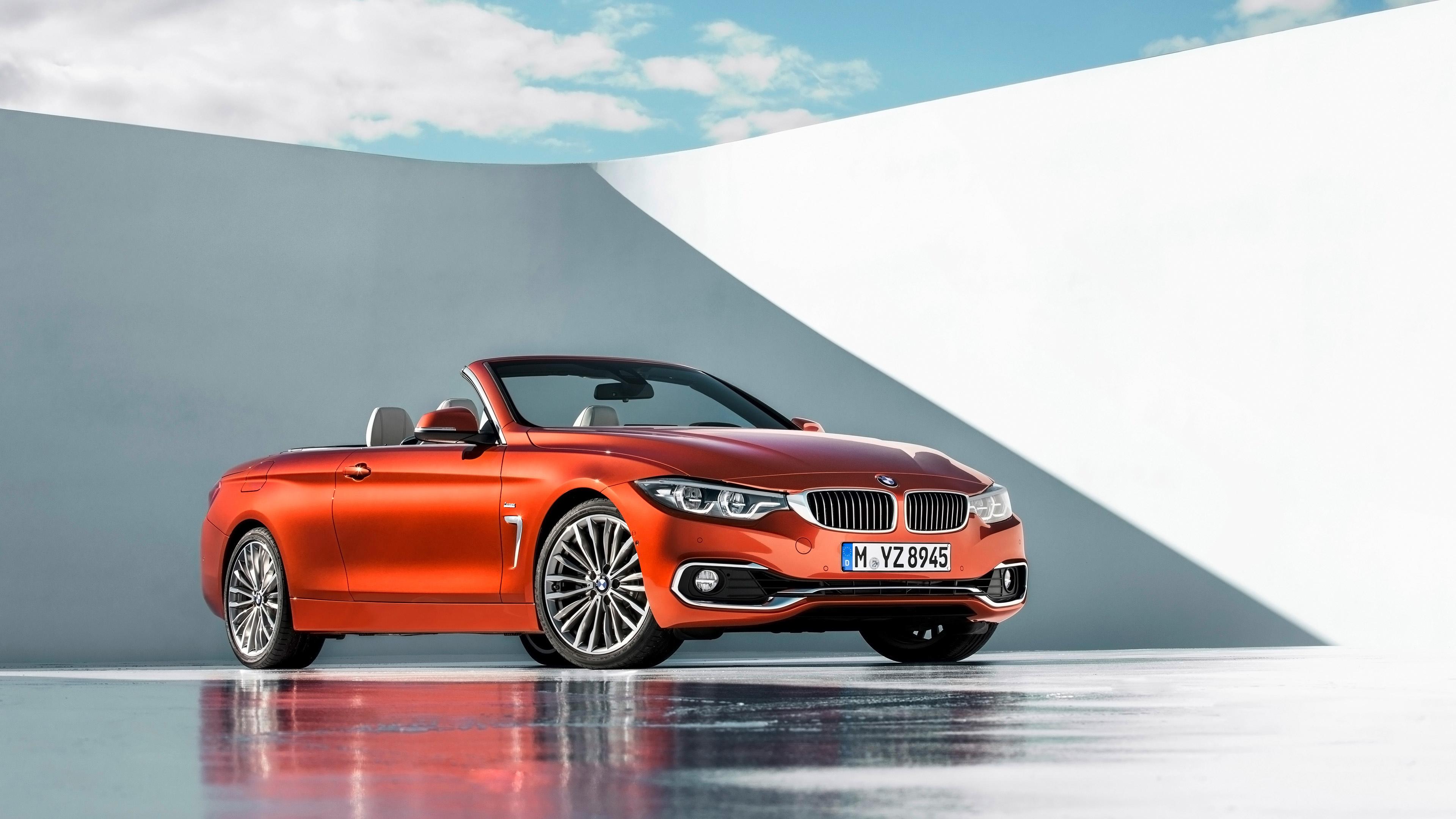 2018 Bmw 4 Series Luxury Convertible 4k Wallpaper Hd Car