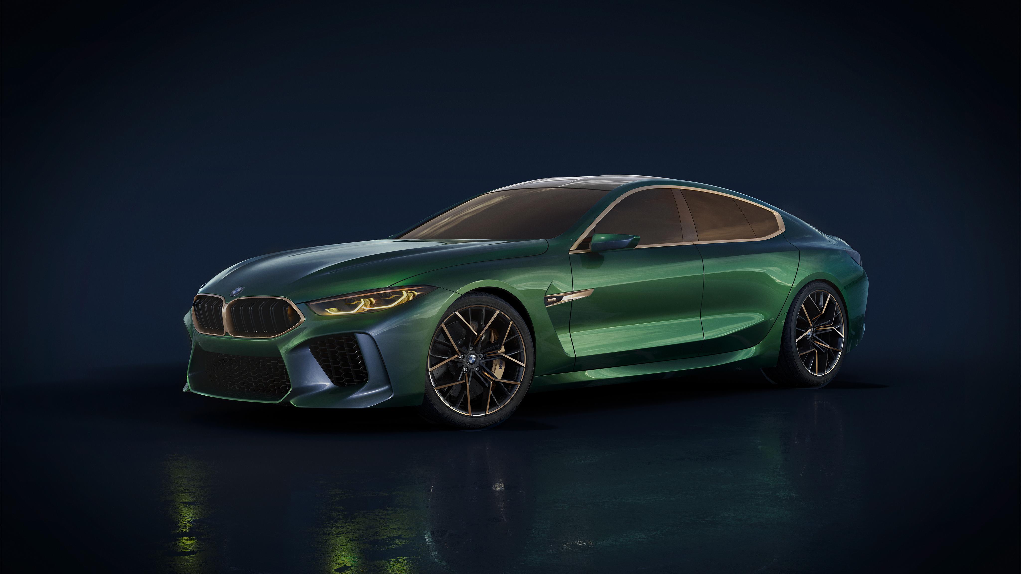 2018 Bmw Concept M8 Gran Coupe 4k 3 Wallpaper Hd Car