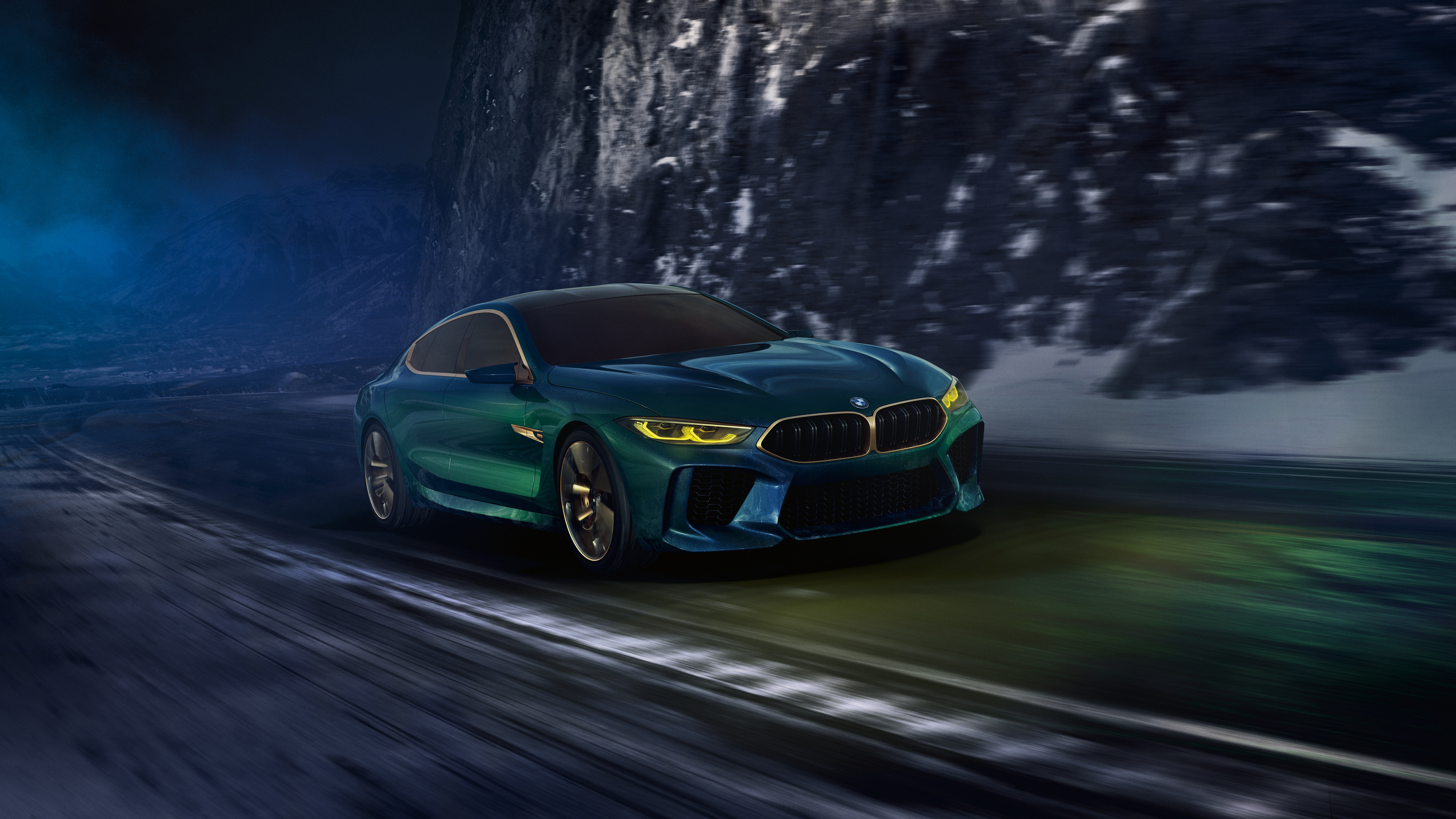 2018 Bmw Concept M8 Gran Coupe 4k 9 Wallpaper Hd Car Wallpapers Id 9913