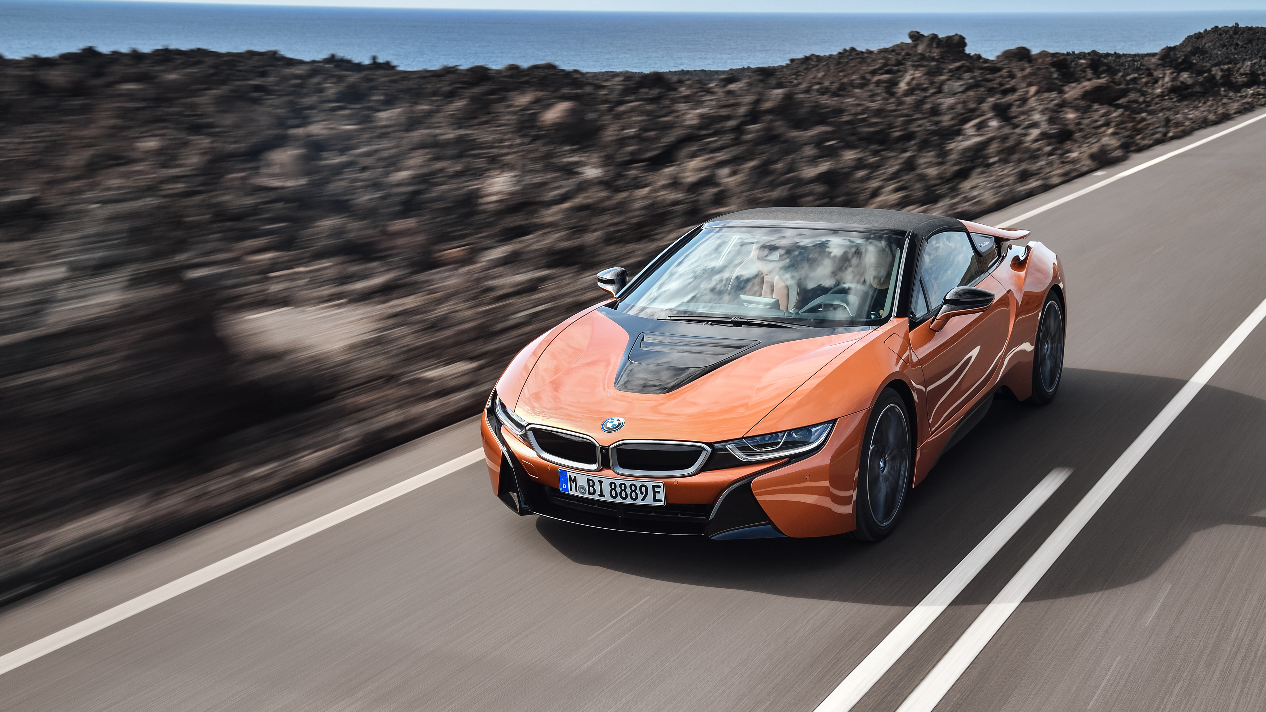 2018 bmw i8 roadster 4k wallpaper hd car wallpapers id 9193. Black Bedroom Furniture Sets. Home Design Ideas