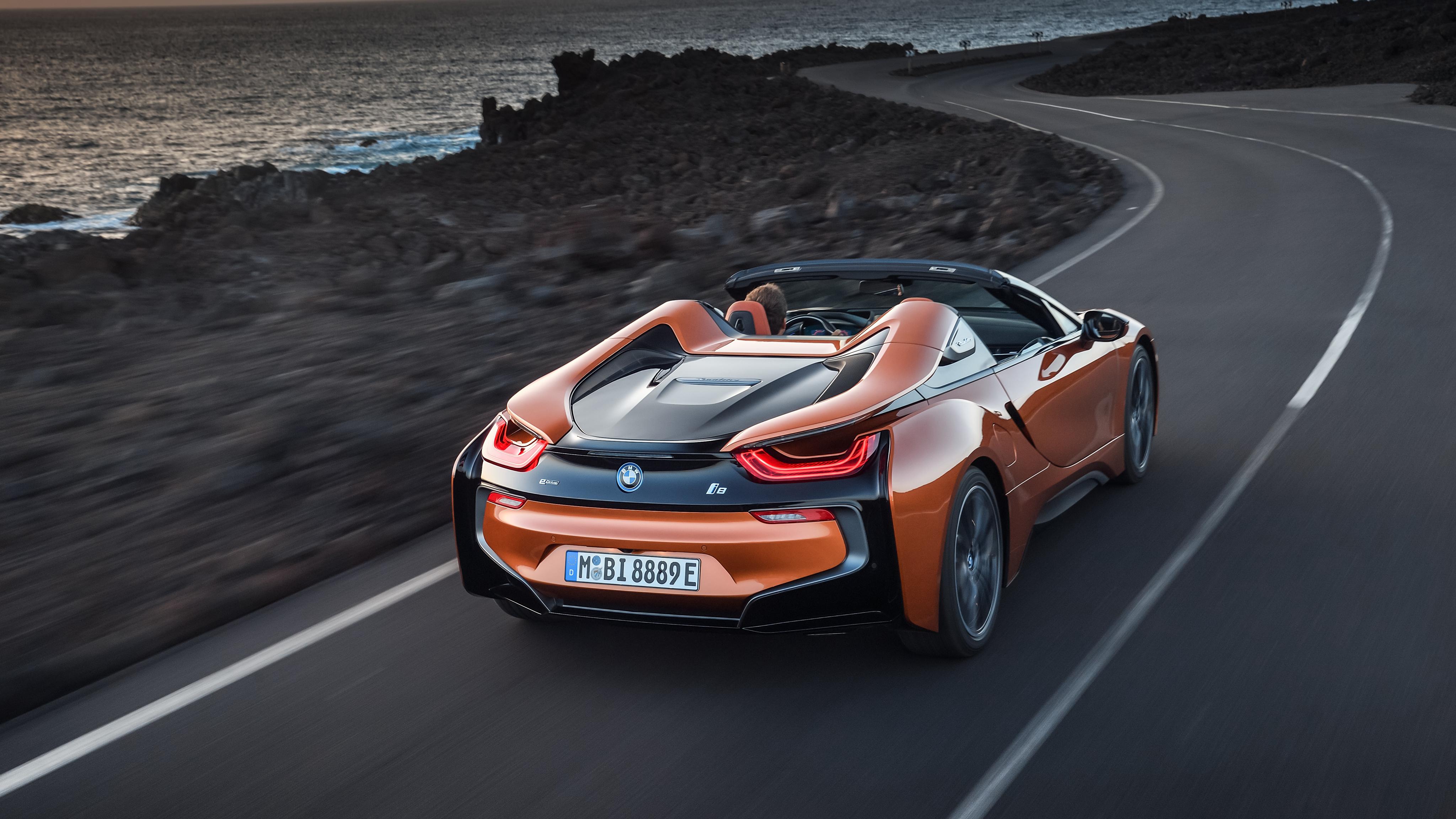 2018 Best Car Wallpapers: 2018 BMW I8 Roadster 4K 2 Wallpaper