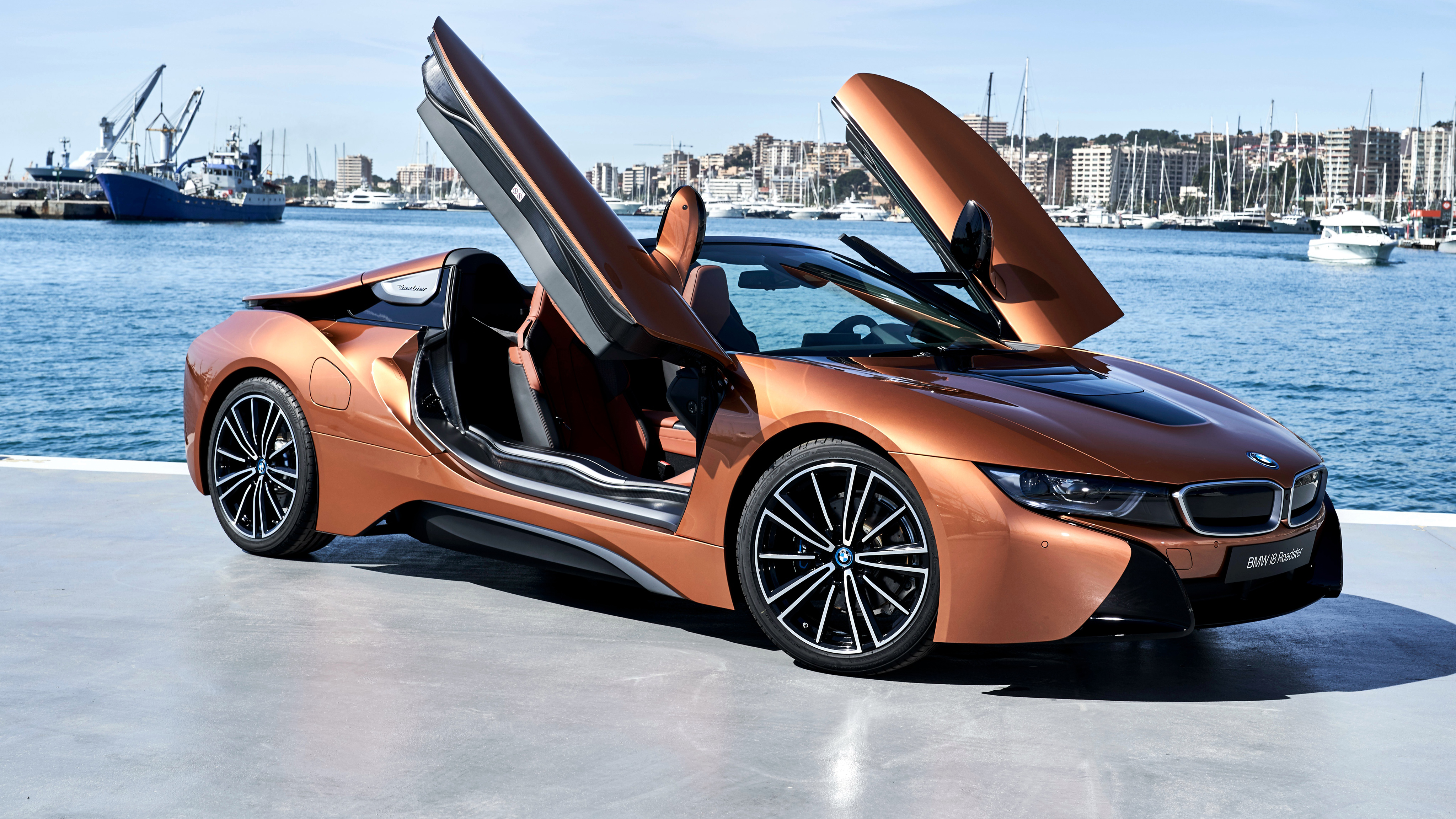2018 bmw i8 roadster 4k wallpaper hd car wallpapers id 10254. Black Bedroom Furniture Sets. Home Design Ideas