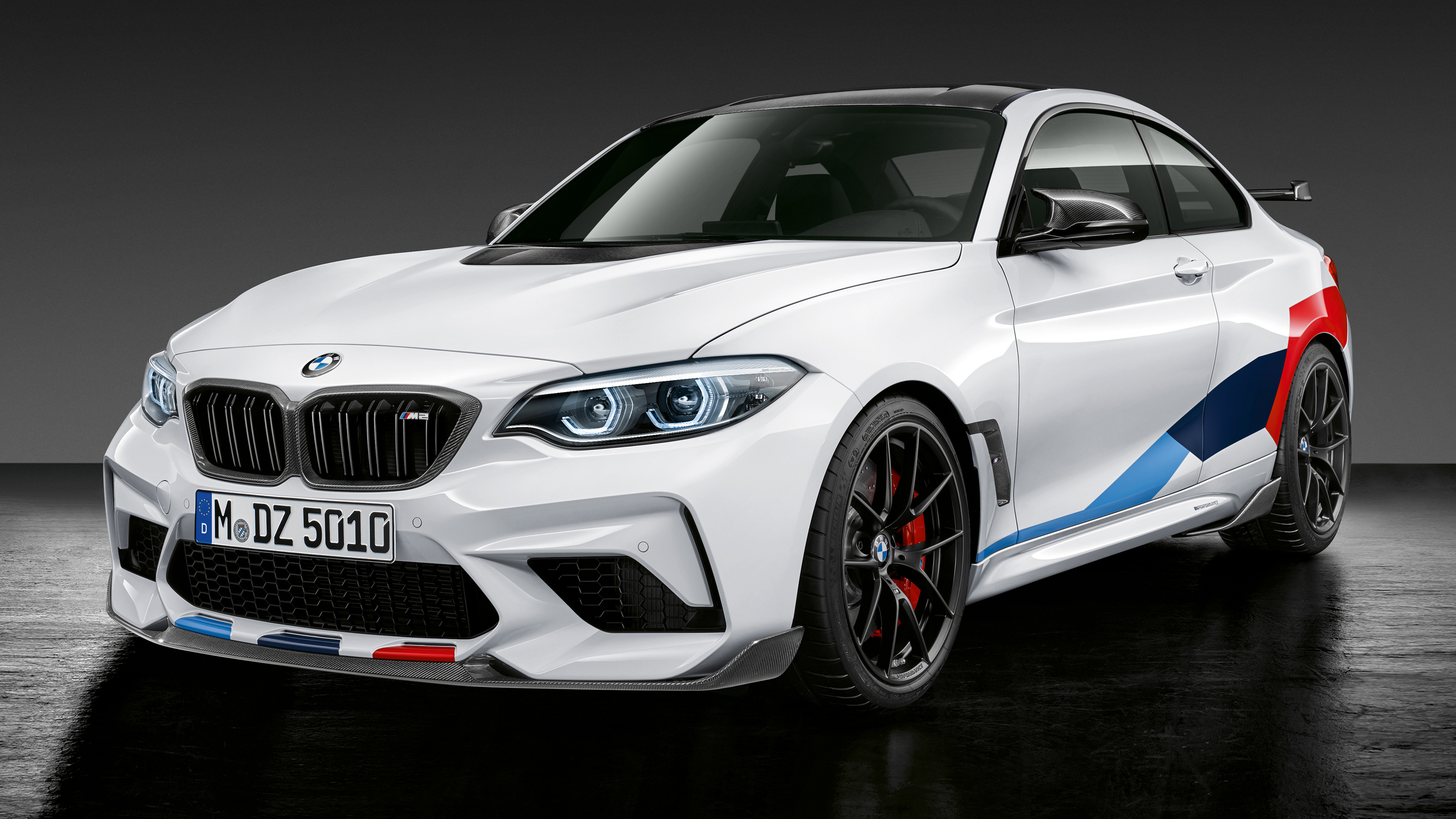 2018 Bmw M2 Competition M Performance Accessories 4k 2